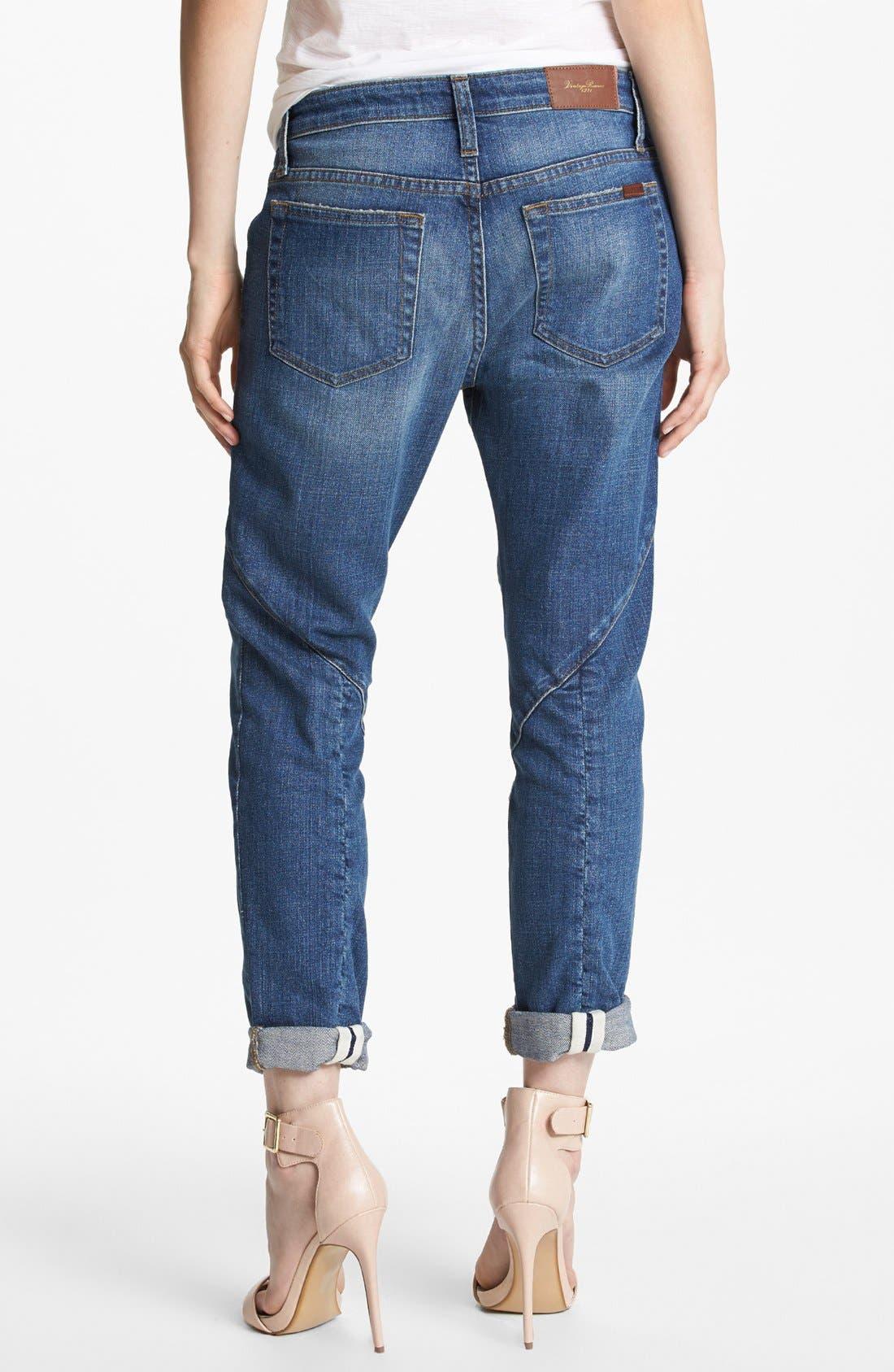 Alternate Image 2  - Joe's 'Button Up' Slouchy Ankle Jeans (Nyla)
