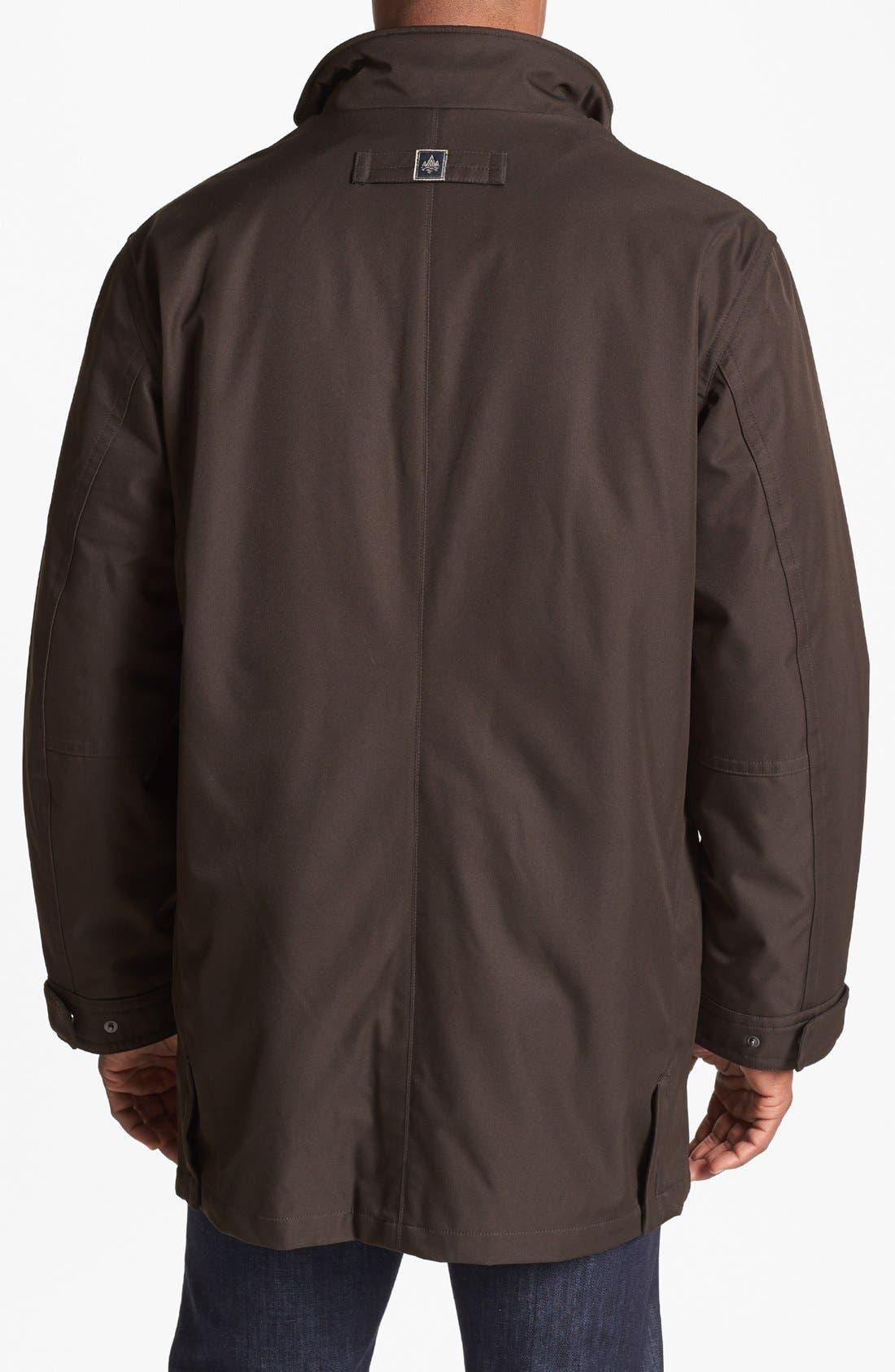 Alternate Image 2  - RAINFOREST 3-in-1 Micro Twill Jacket