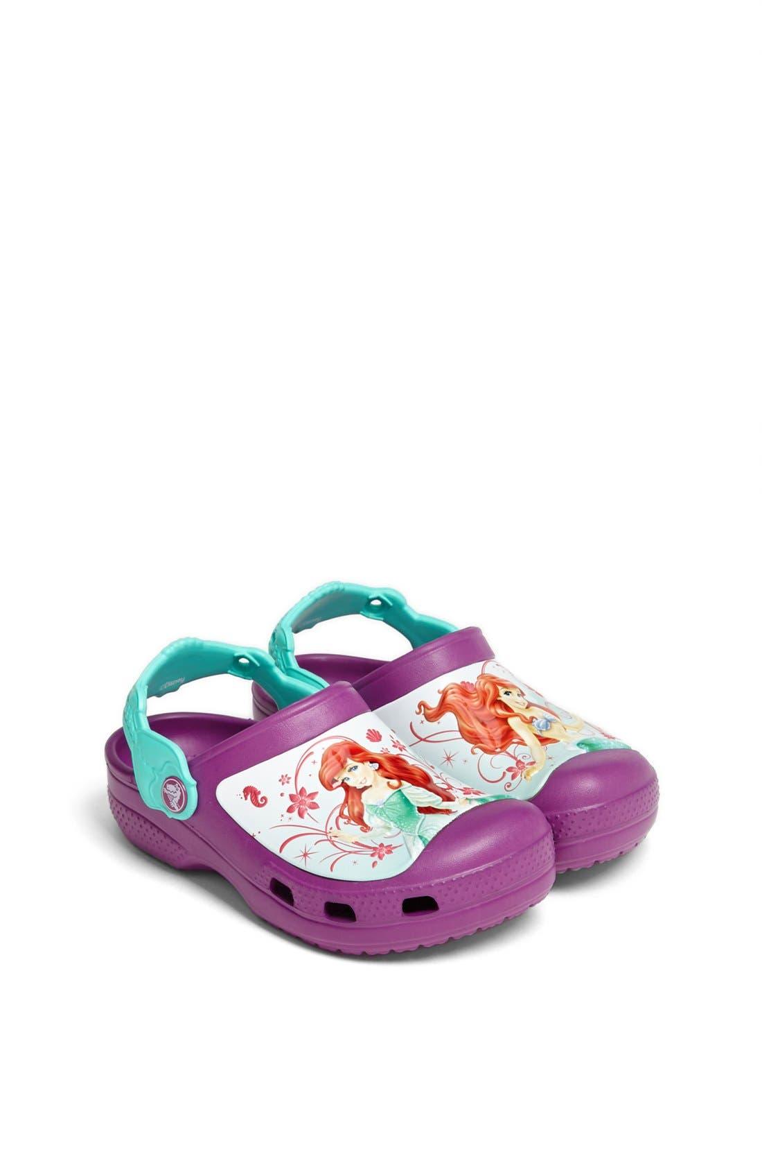 Alternate Image 1 Selected - CROCS™ 'Ariel' Clog (Walker, Toddler &  Little Kid)