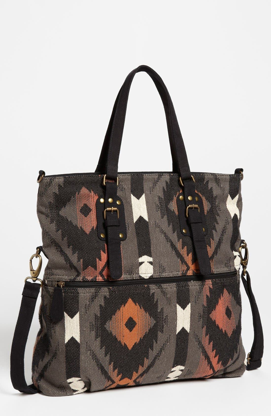 Alternate Image 1 Selected - BP. Southwestern Pattern Messenger Bag