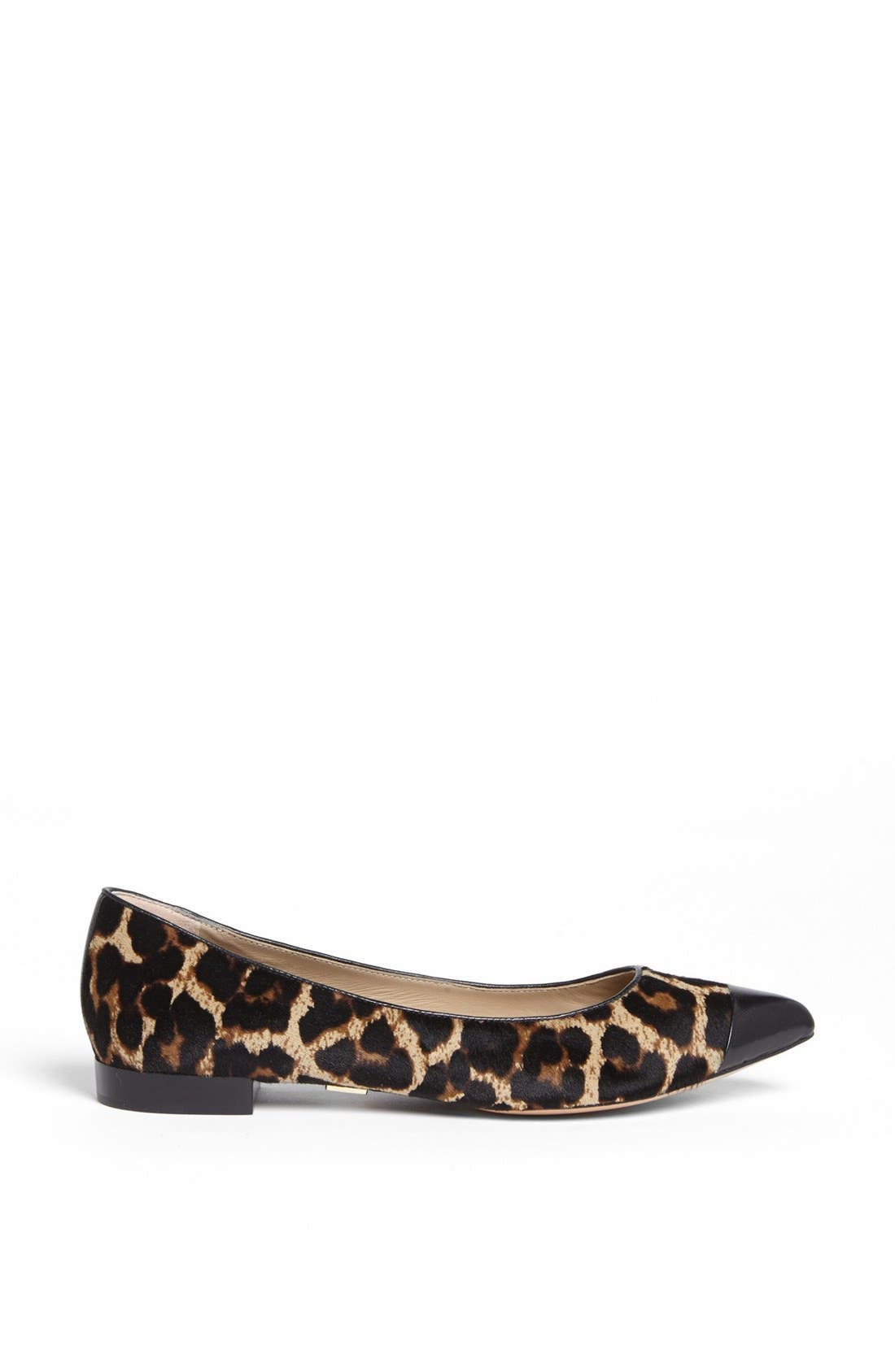 Alternate Image 4  - Michael Kors 'Janae' Calf Hair Flat