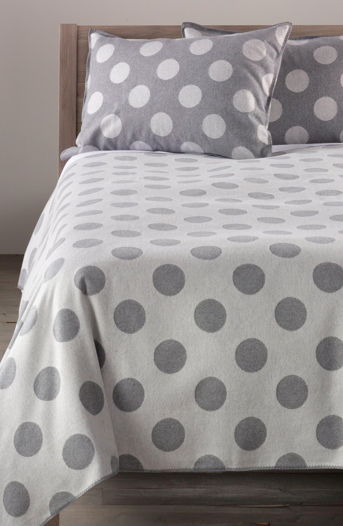 Alternate Image 2  - Nordstrom at Home 'Dottie' Flannel Blanket