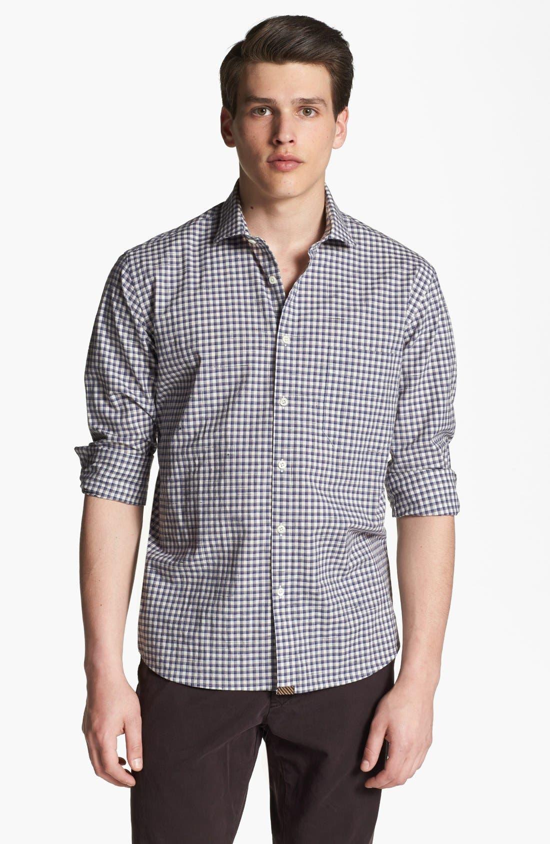 Alternate Image 1 Selected - Billy Reid 'John T' Check Shirt