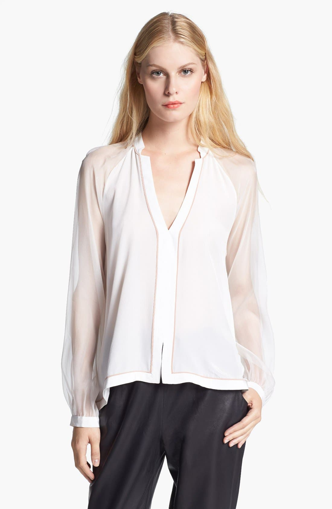 Alternate Image 1 Selected - Elizabeth and James 'Peyton' Silk Blouse