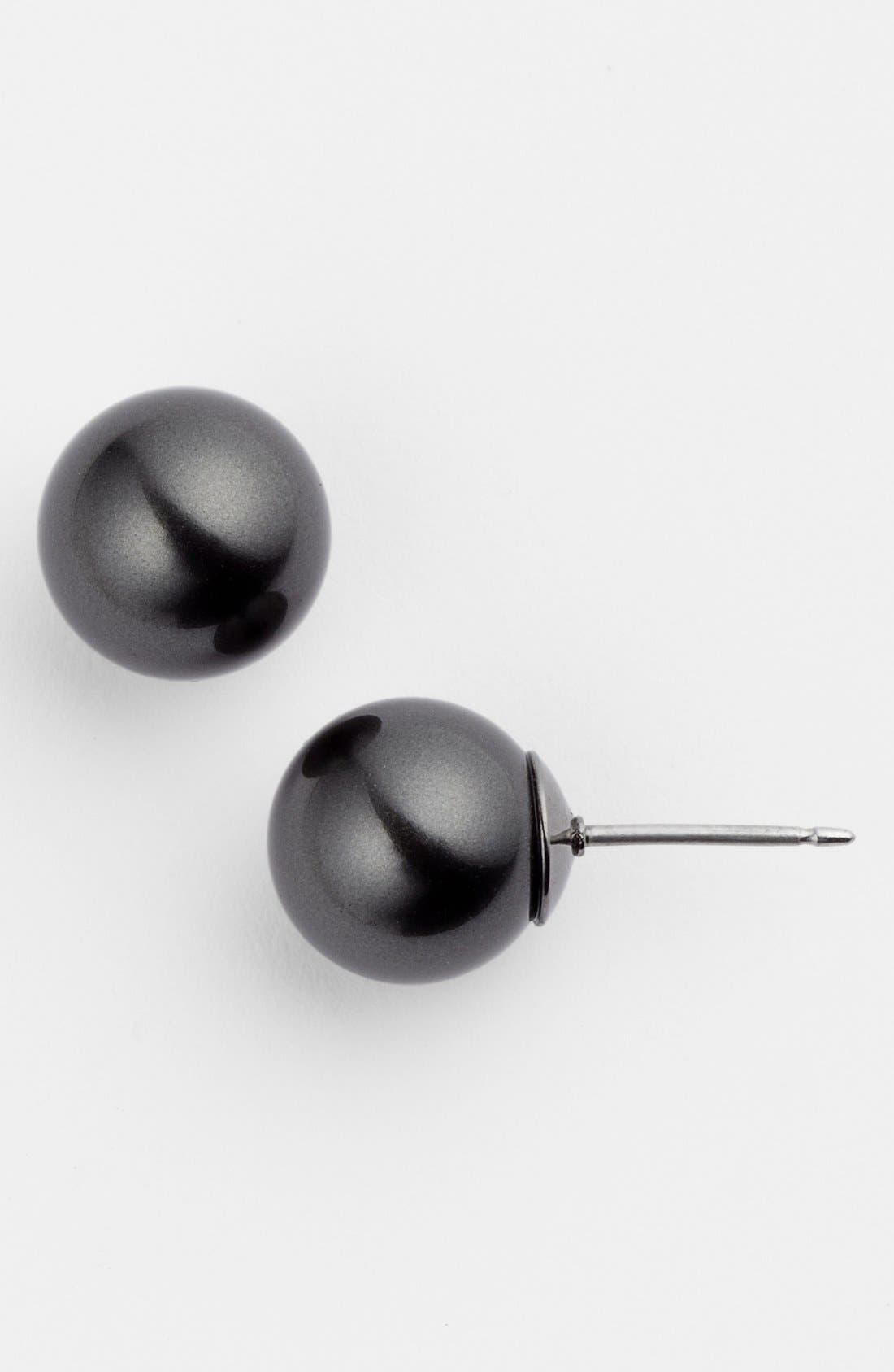 Main Image - Givenchy 10mm Glass Pearl Stud Earrings (Nordstrom Exclusive)