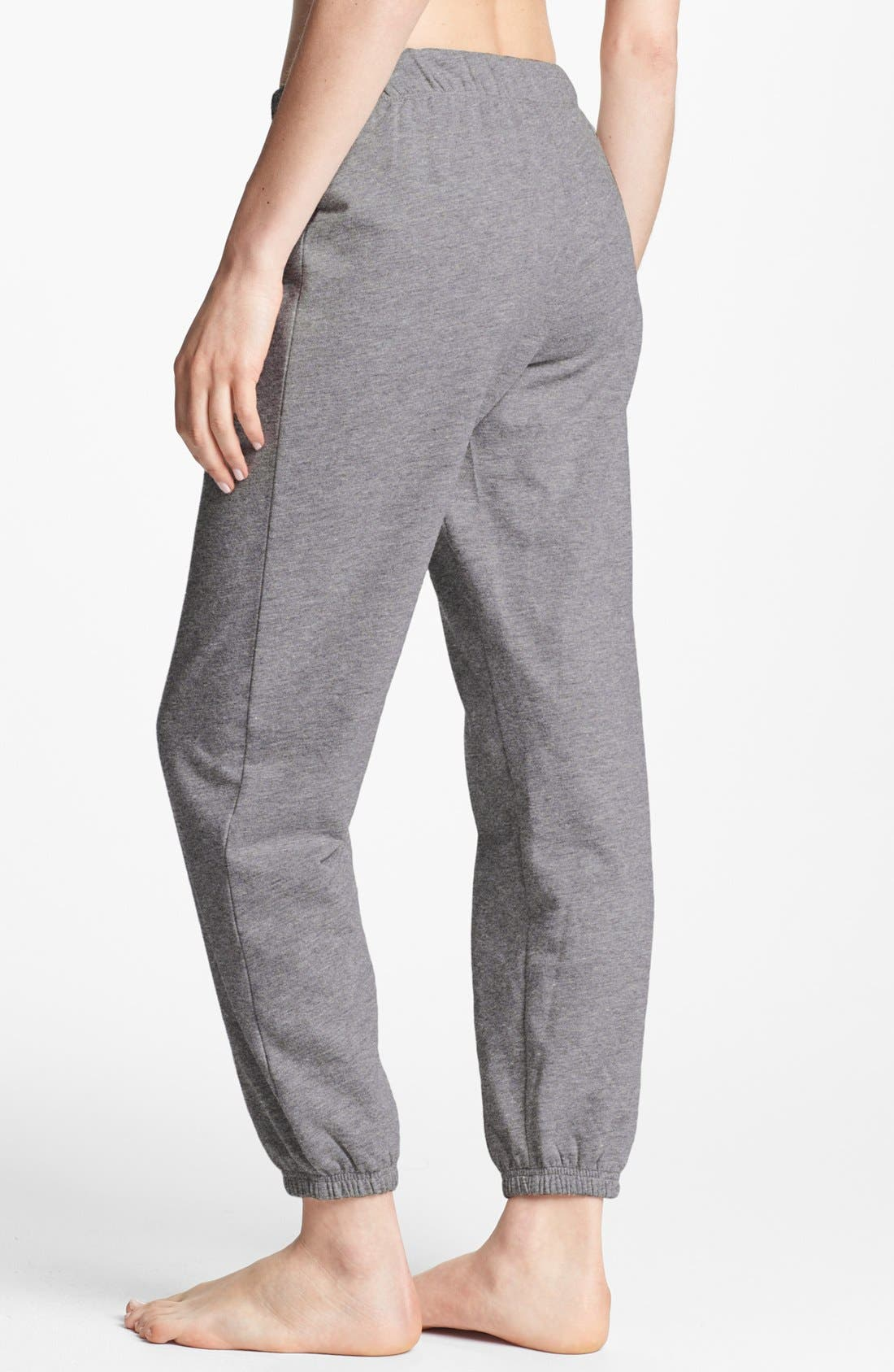 Alternate Image 2  - Make + Model 'Jogger' Fleece Pants