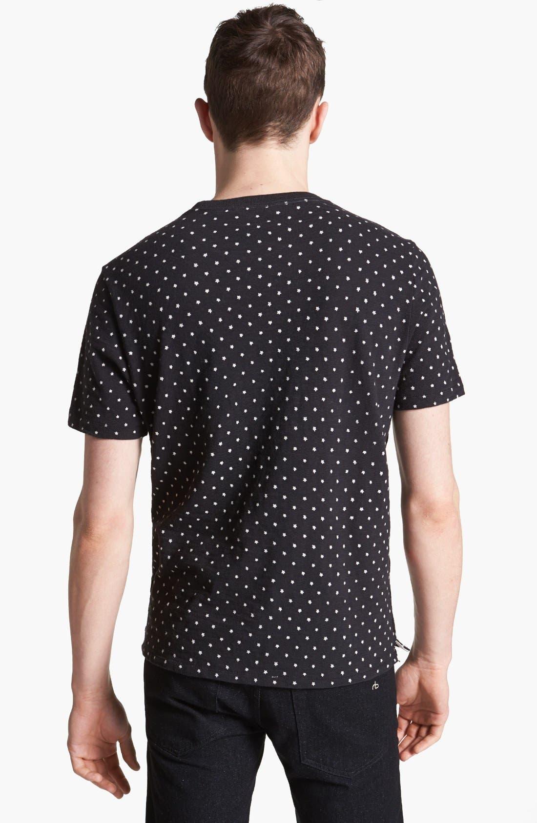 Alternate Image 2  - rag & bone 'Blackstar' Print T-Shirt