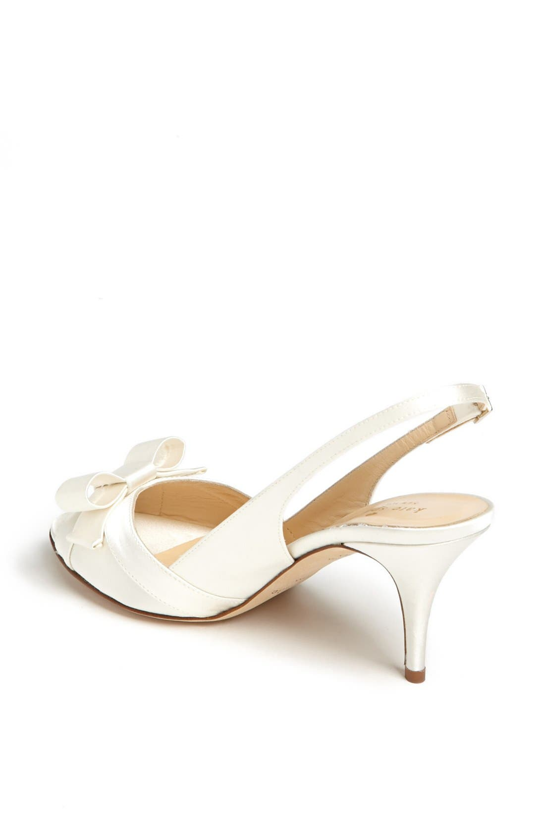 Alternate Image 2  - kate spade new york 'silver' slingback sandal
