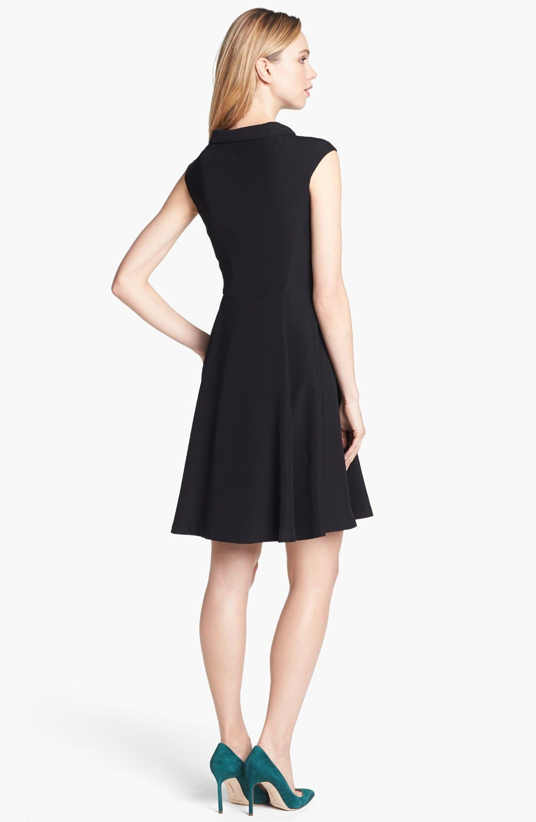 Alternate Image 2  - Vince Camuto Fit & Flare Dress