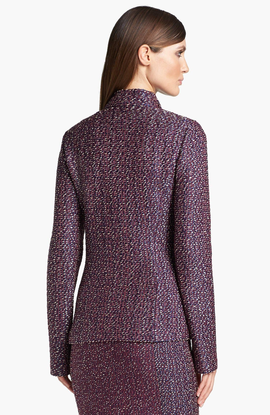 Alternate Image 4  - St. John Collection Dash Tweed Knit Jacket