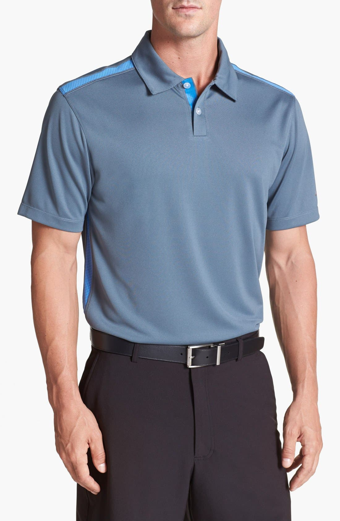 Alternate Image 1 Selected - Nike Dri-FIT Colorblock Polo