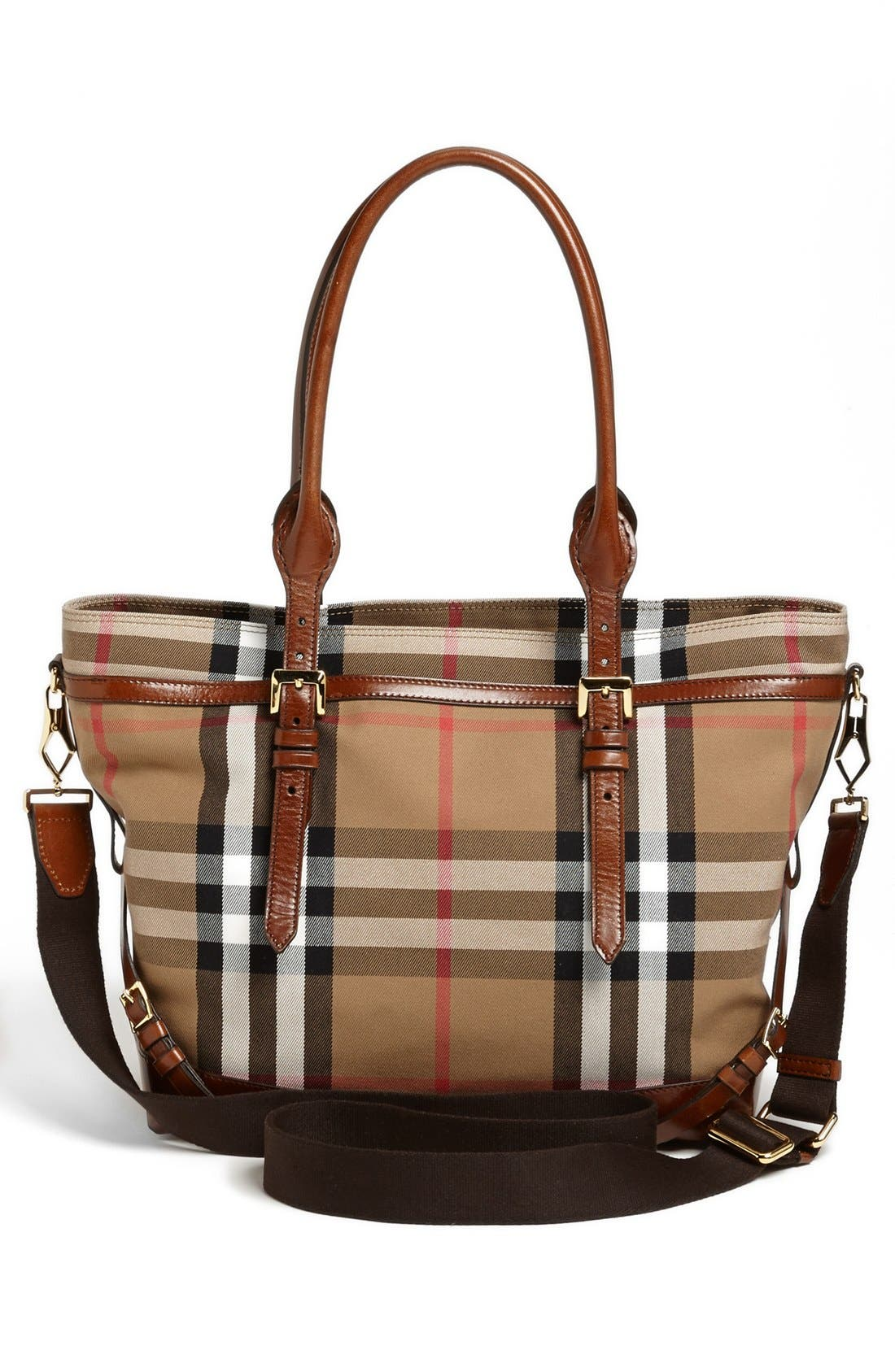 Alternate Image 4  - Burberry Diaper Bag
