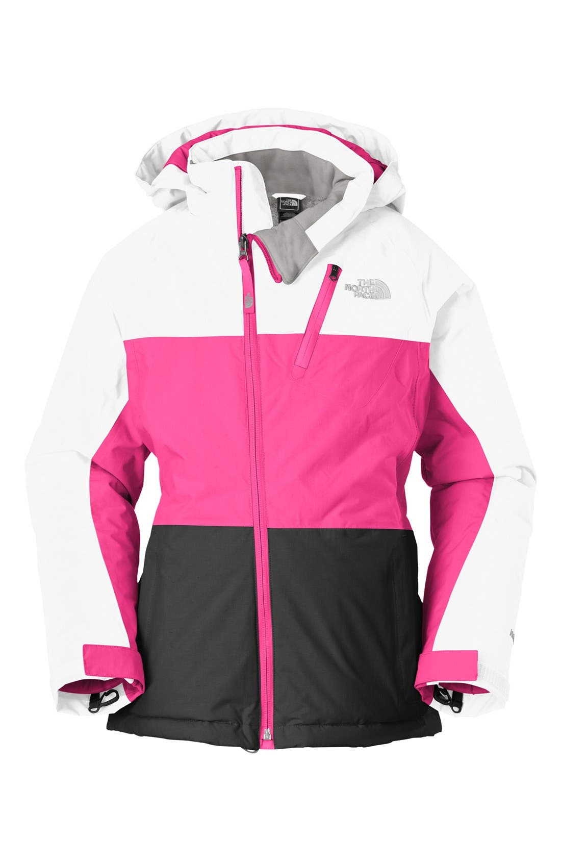 Alternate Image 1 Selected - The North Face 'Kizamm' Insulated Jacket (Little Girls & Big Girls)
