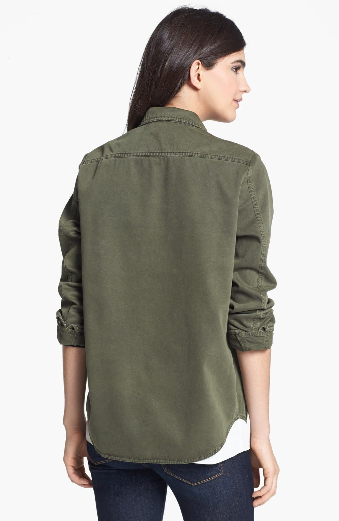 Alternate Image 2  - Sanctuary 'Army Sheet' Twill Jacket