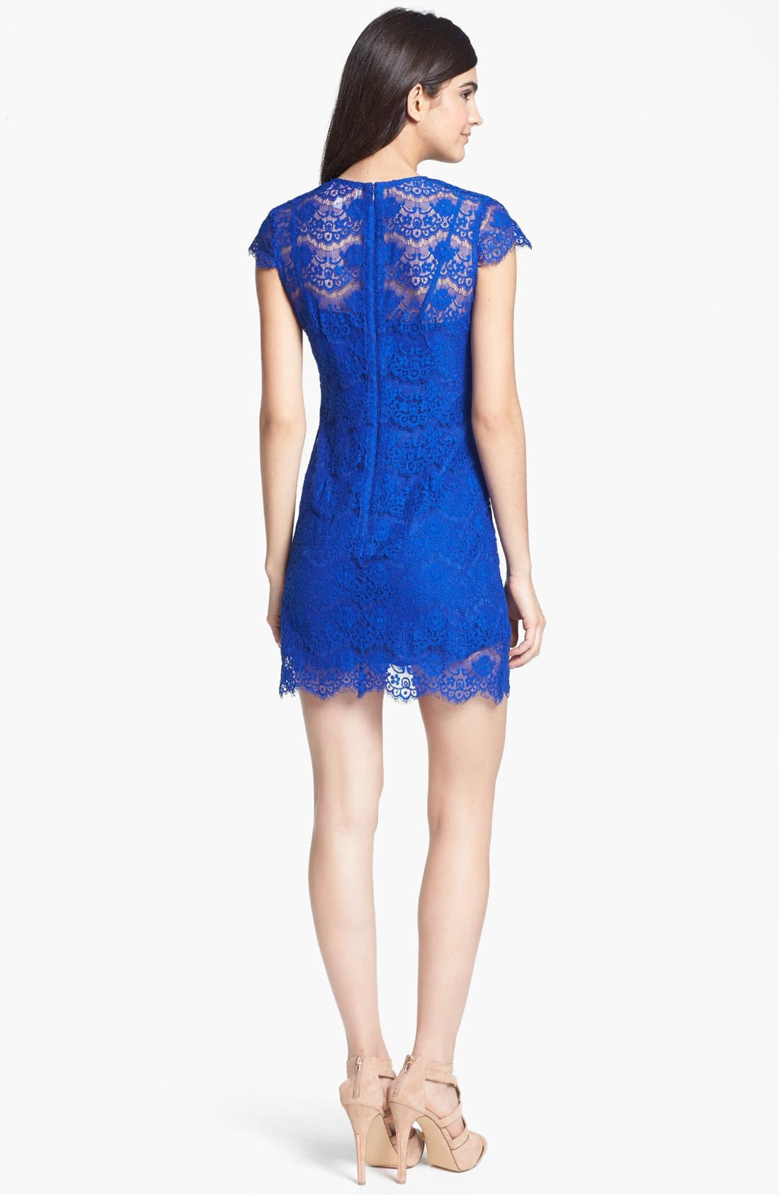 Alternate Image 2  - Keepsake the Label 'Love Magic' Lace Dress
