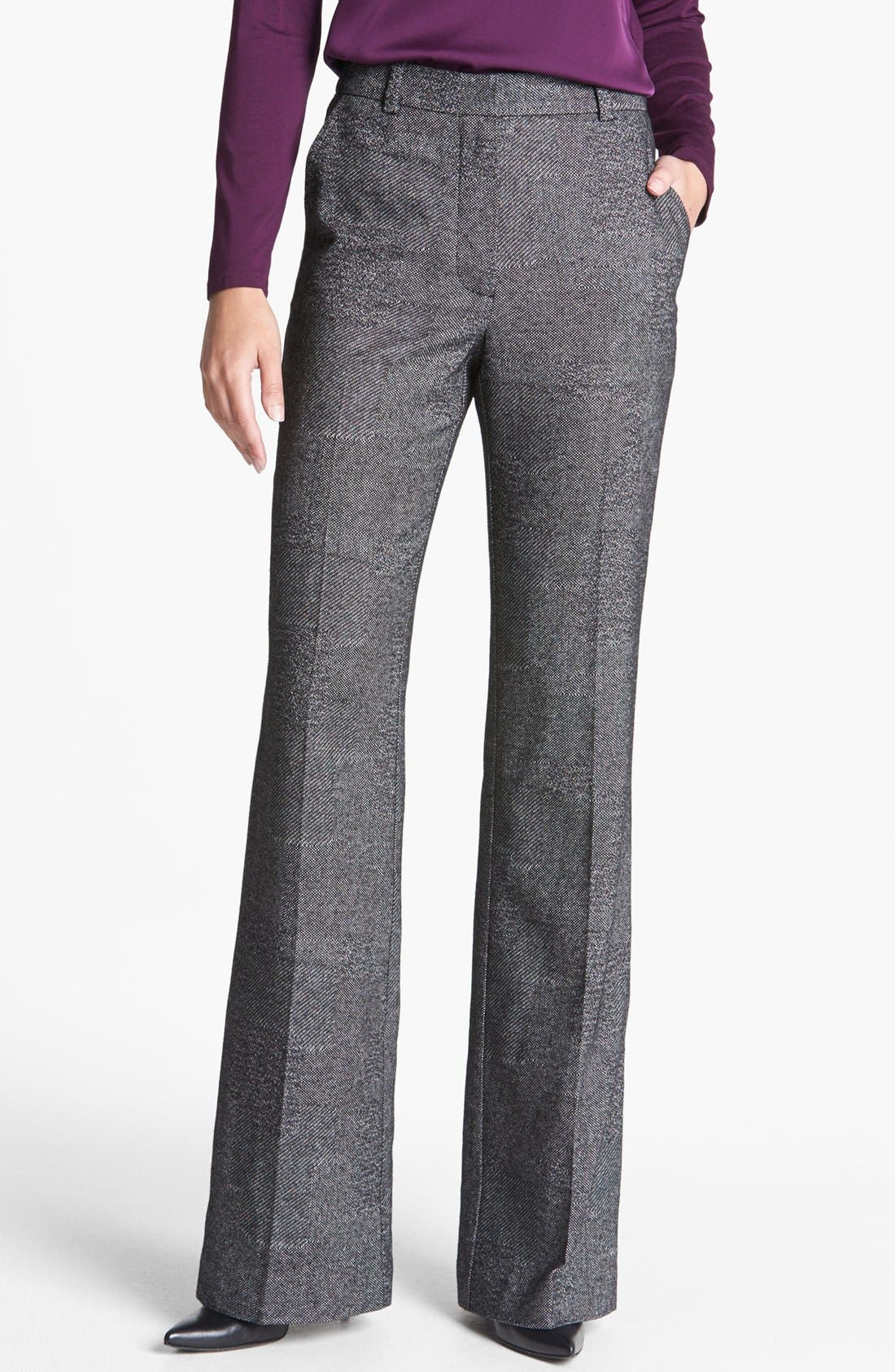 Alternate Image 1 Selected - Trina Turk 'Approach' Cotton Blend Pants
