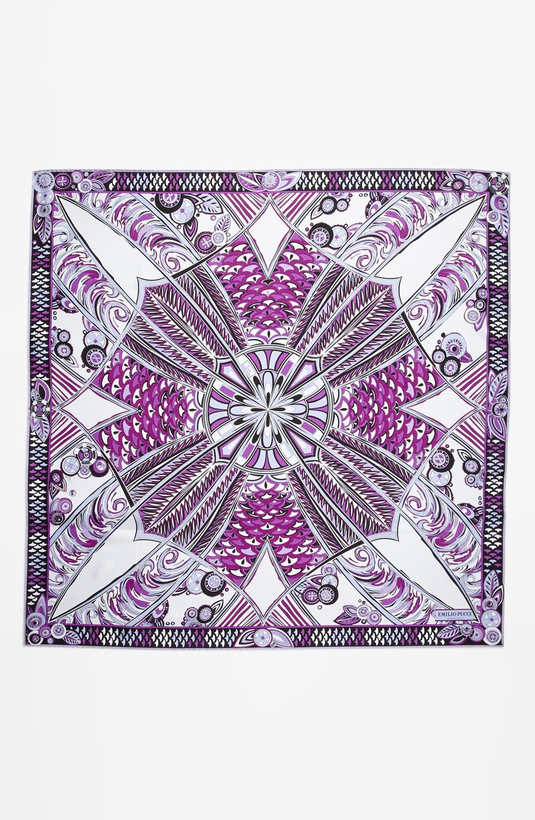Alternate Image 2  - Emilio Pucci 'Deco Fan' Silk Scarf