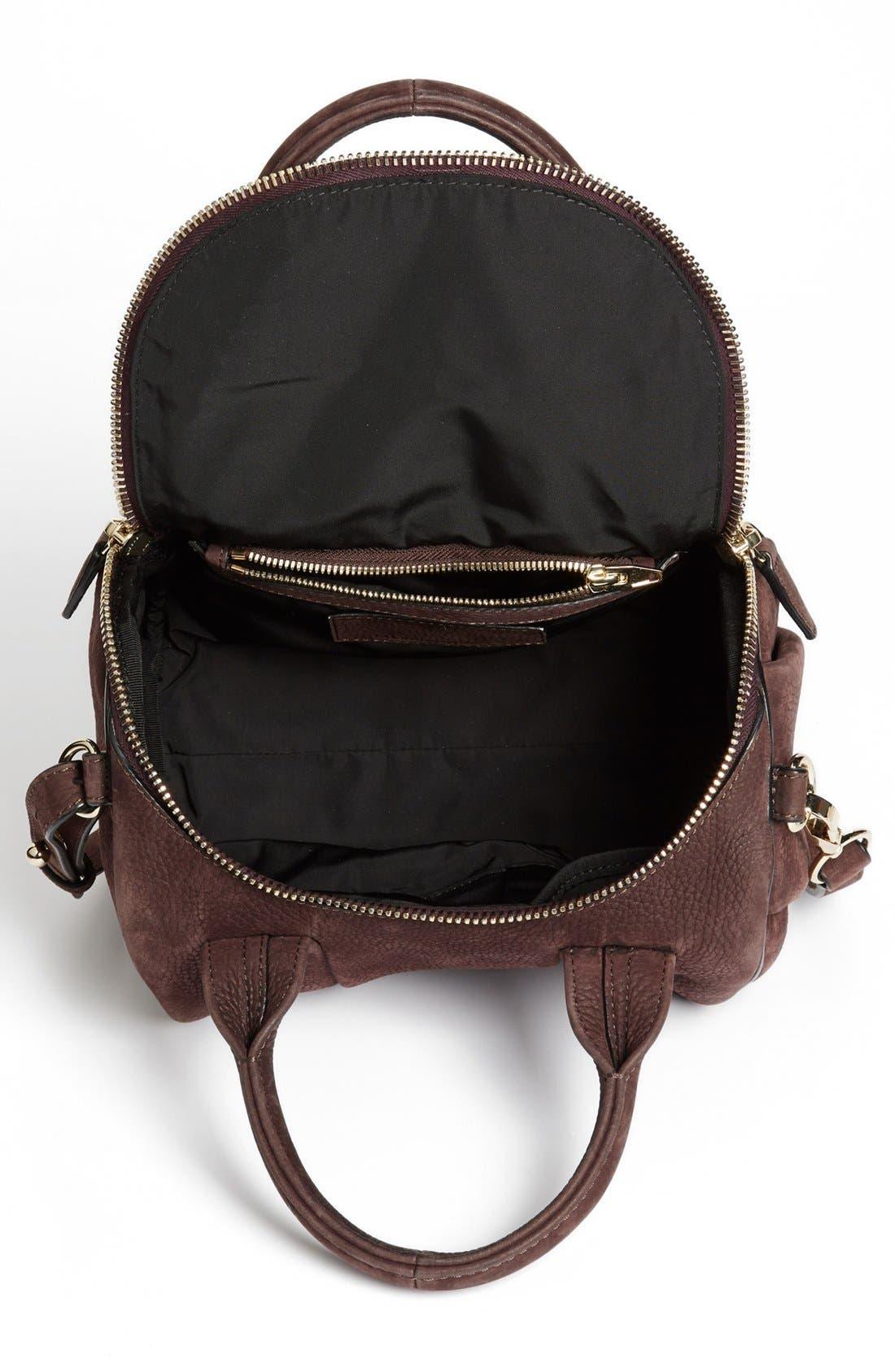 Alternate Image 2  - Alexander Wang 'Rockie - Pale Gold' Nubuck Leather Crossbody Bag