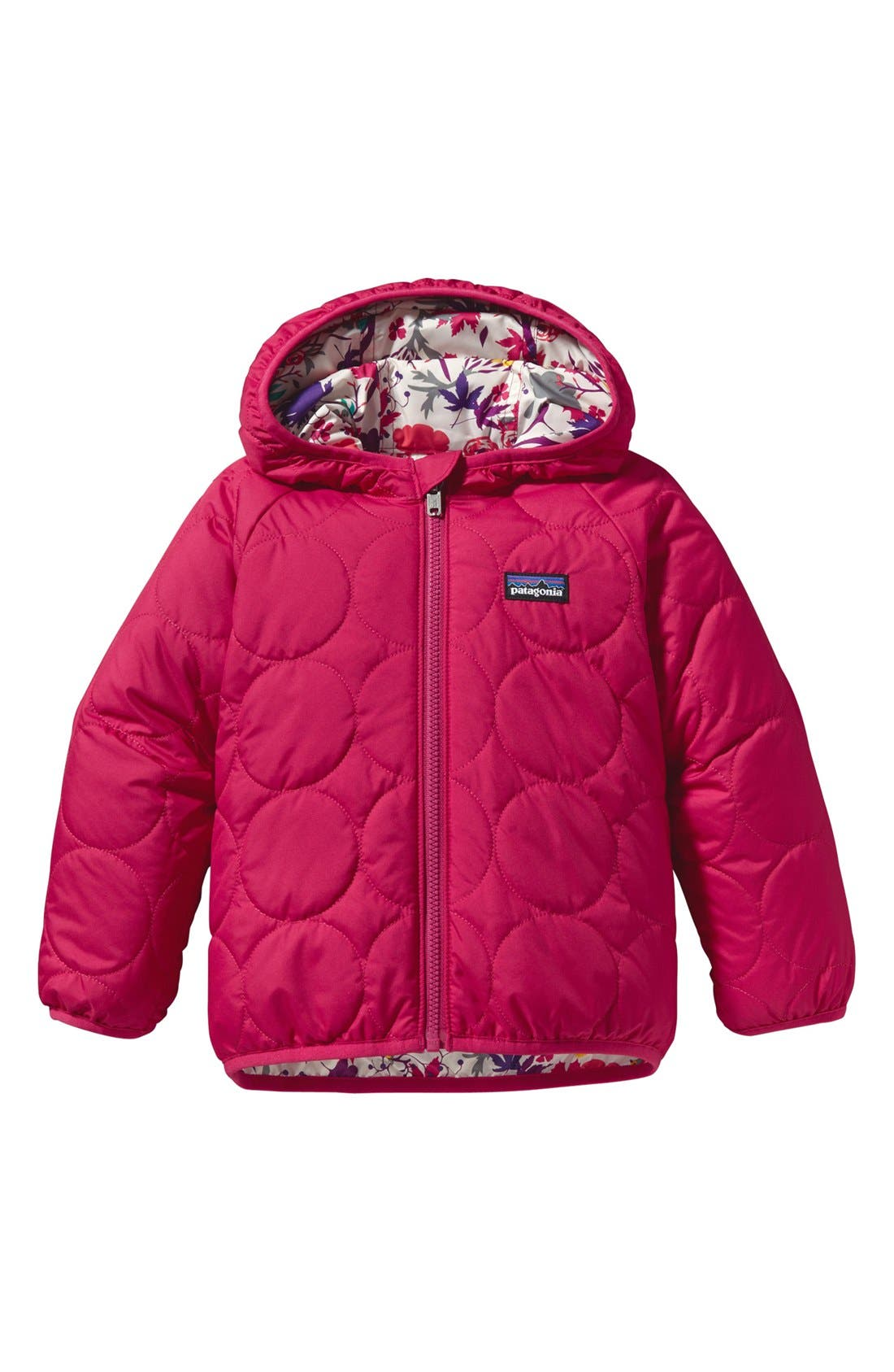 Alternate Image 2  - Patagonia Reversible Hooded Jacket (Infant)