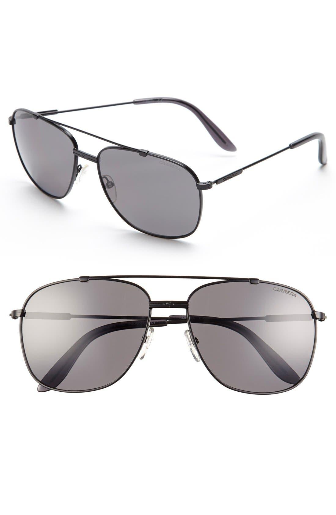 Alternate Image 1 Selected - Carrera Eyewear 58mm Aviator Sunglasses