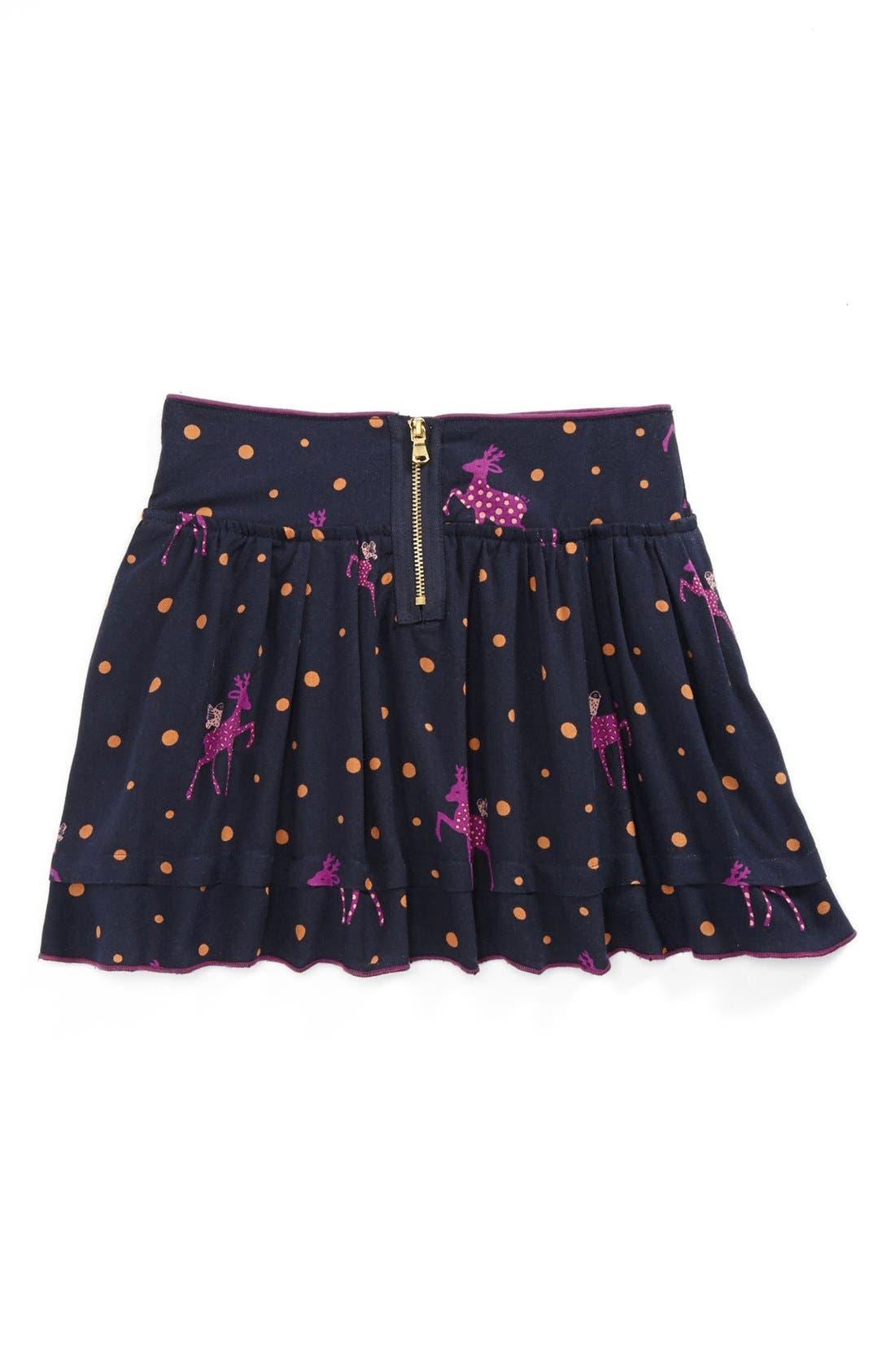 Alternate Image 2  - LITTLE MARC JACOBS Twill Skirt (Toddler Girls, Little Girls & Big Girls)