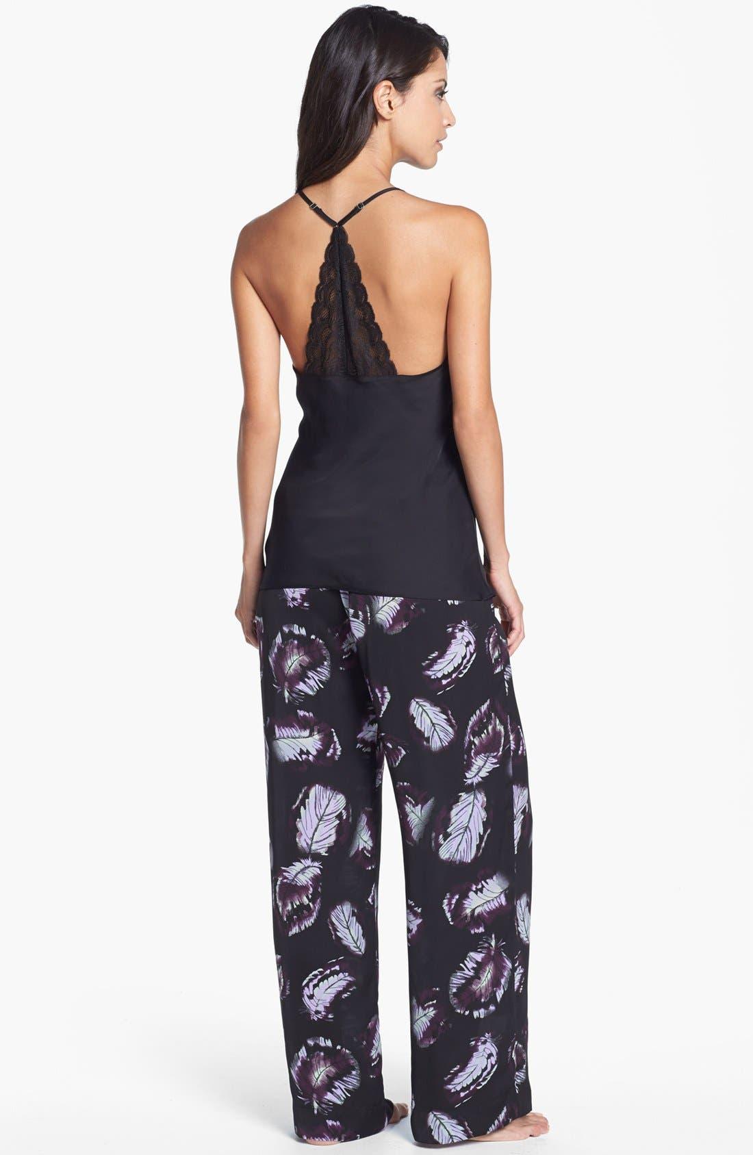Alternate Image 4  - Shimera Silky Woven Lounge Pants