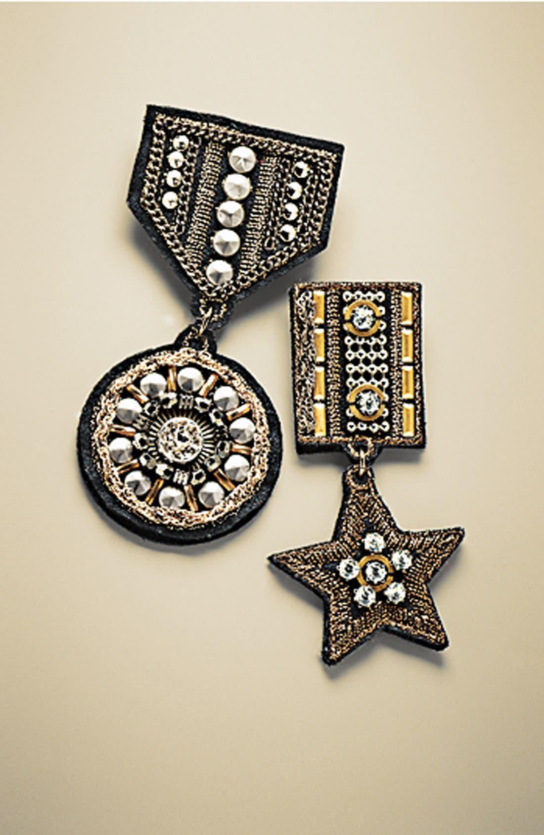Alternate Image 3  - Cara 'Military Star' Pin