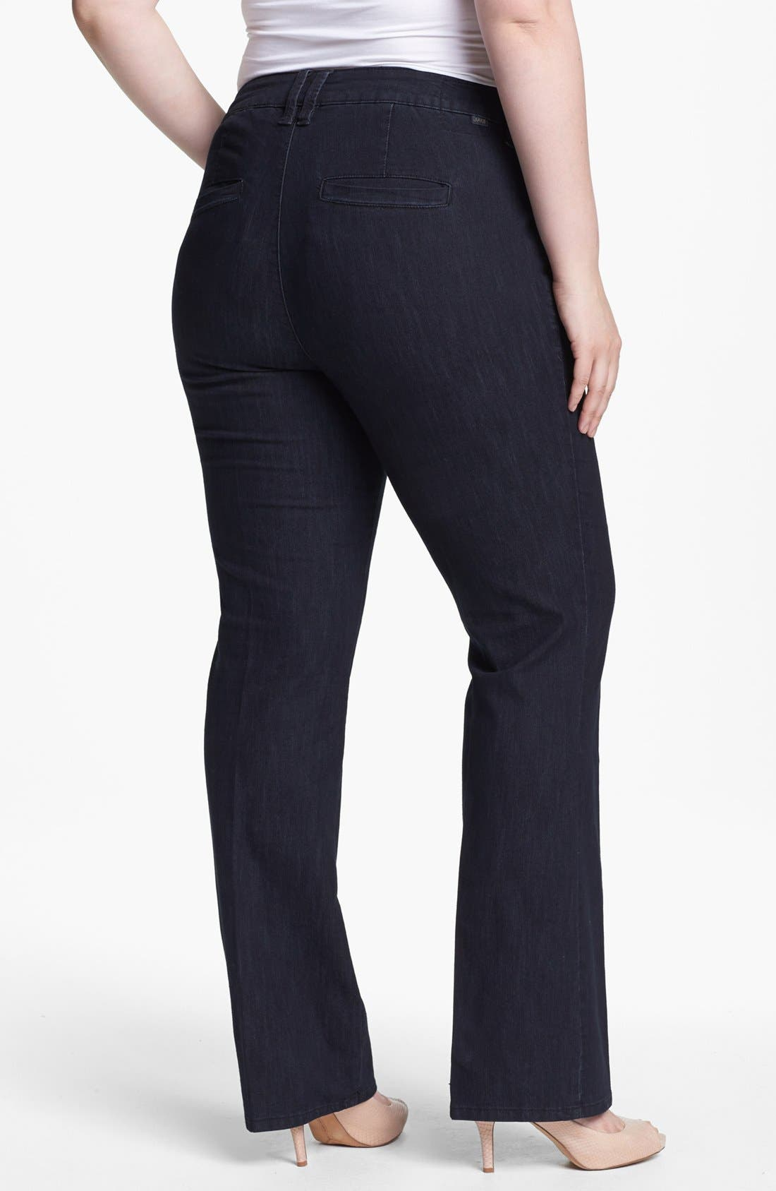 Alternate Image 2  - Jag Jeans 'Elisha' Trouser Jeans (Plus Size)