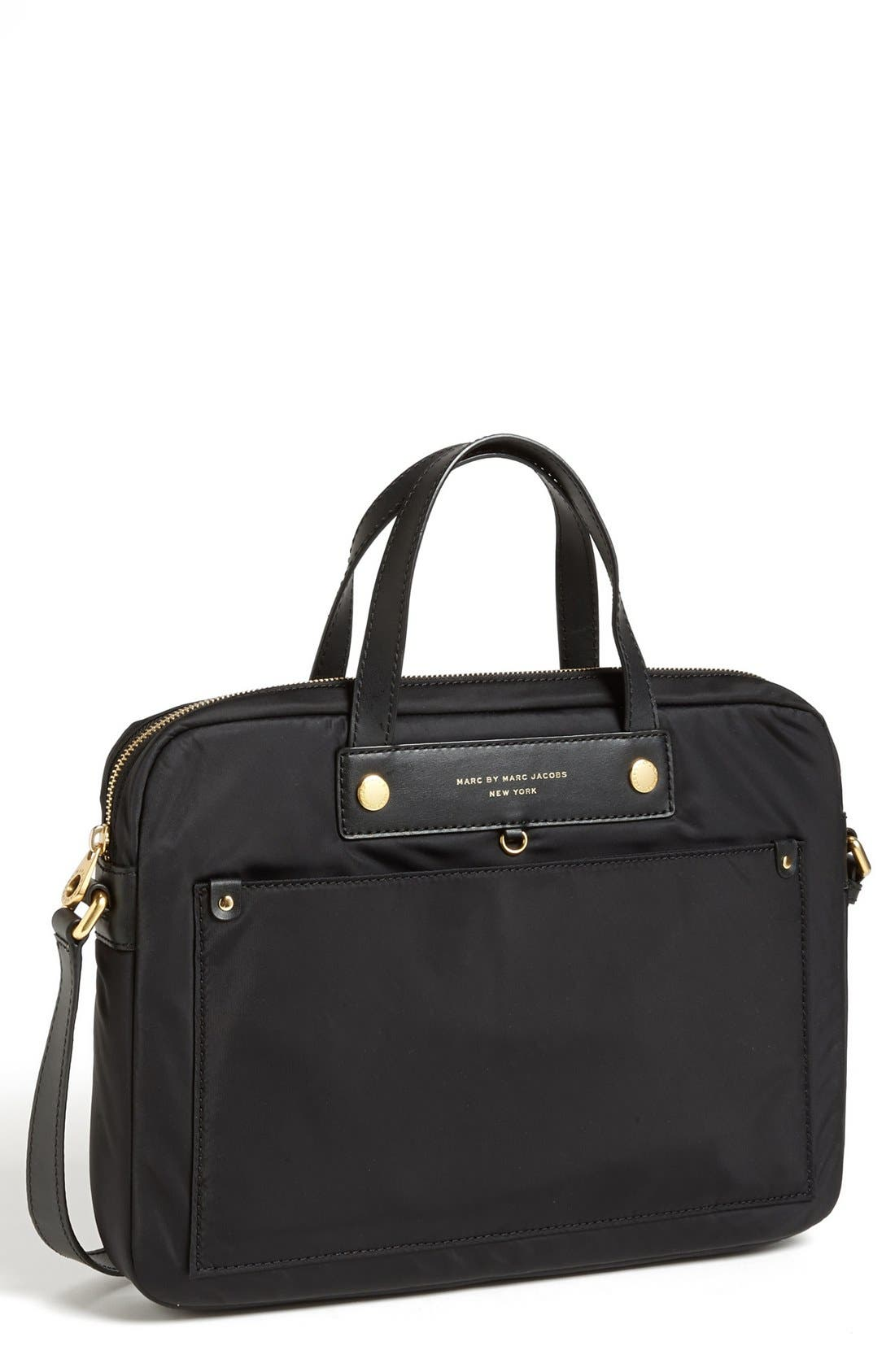 Alternate Image 1 Selected - MARC BY MARC JACOBS 'Preppy Nylon' Computer Commuter Bag (13 Inch)