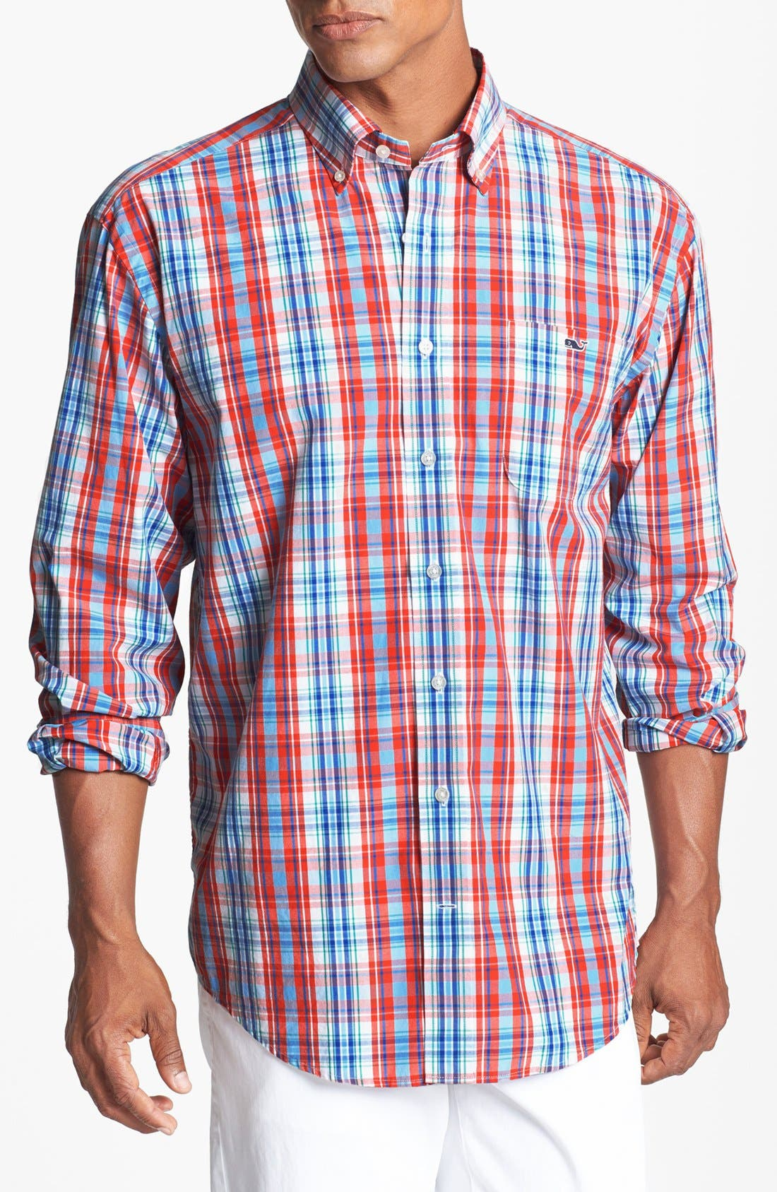 Main Image - Vineyard Vines 'Tucker - Fog Cove' Sport Shirt