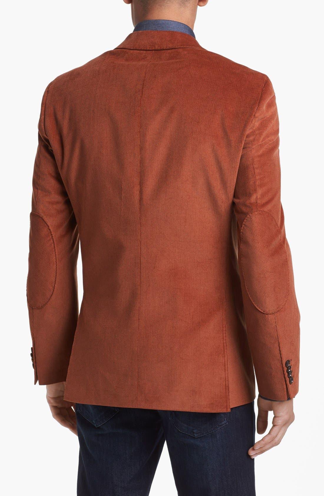 Alternate Image 2  - BOSS HUGO BOSS 'Rhett' Extra Trim Fit Blazer