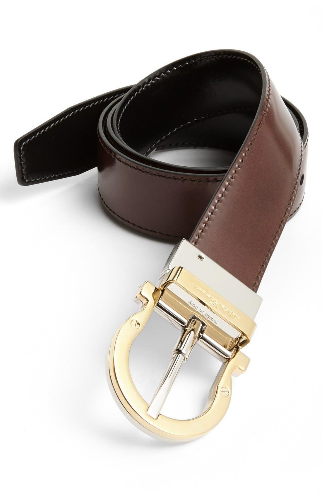 Alternate Image 1 Selected - Salvatore Ferragamo 'Twirl' Reversible Belt