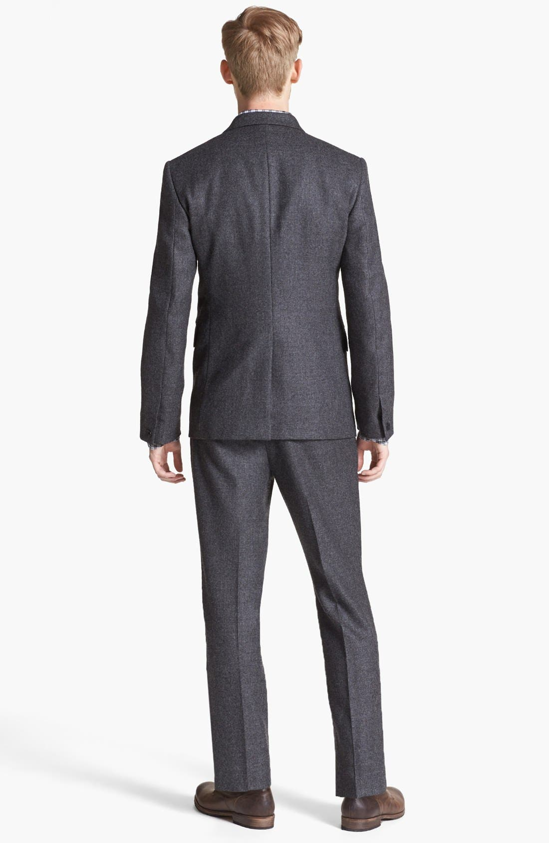 Alternate Image 3  - rag & bone Trim Fit Wool Suit