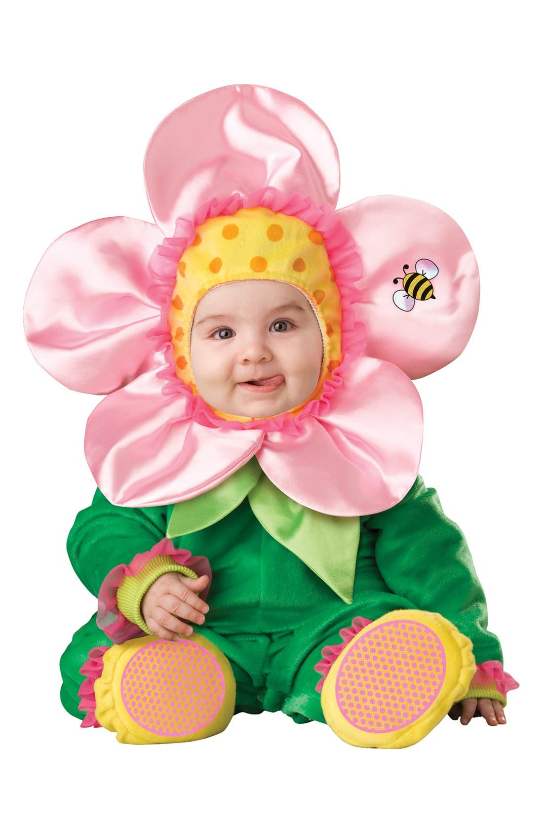 Alternate Image 1 Selected - InCharacter Costumes Plush Lil' Flower (Baby Girls)