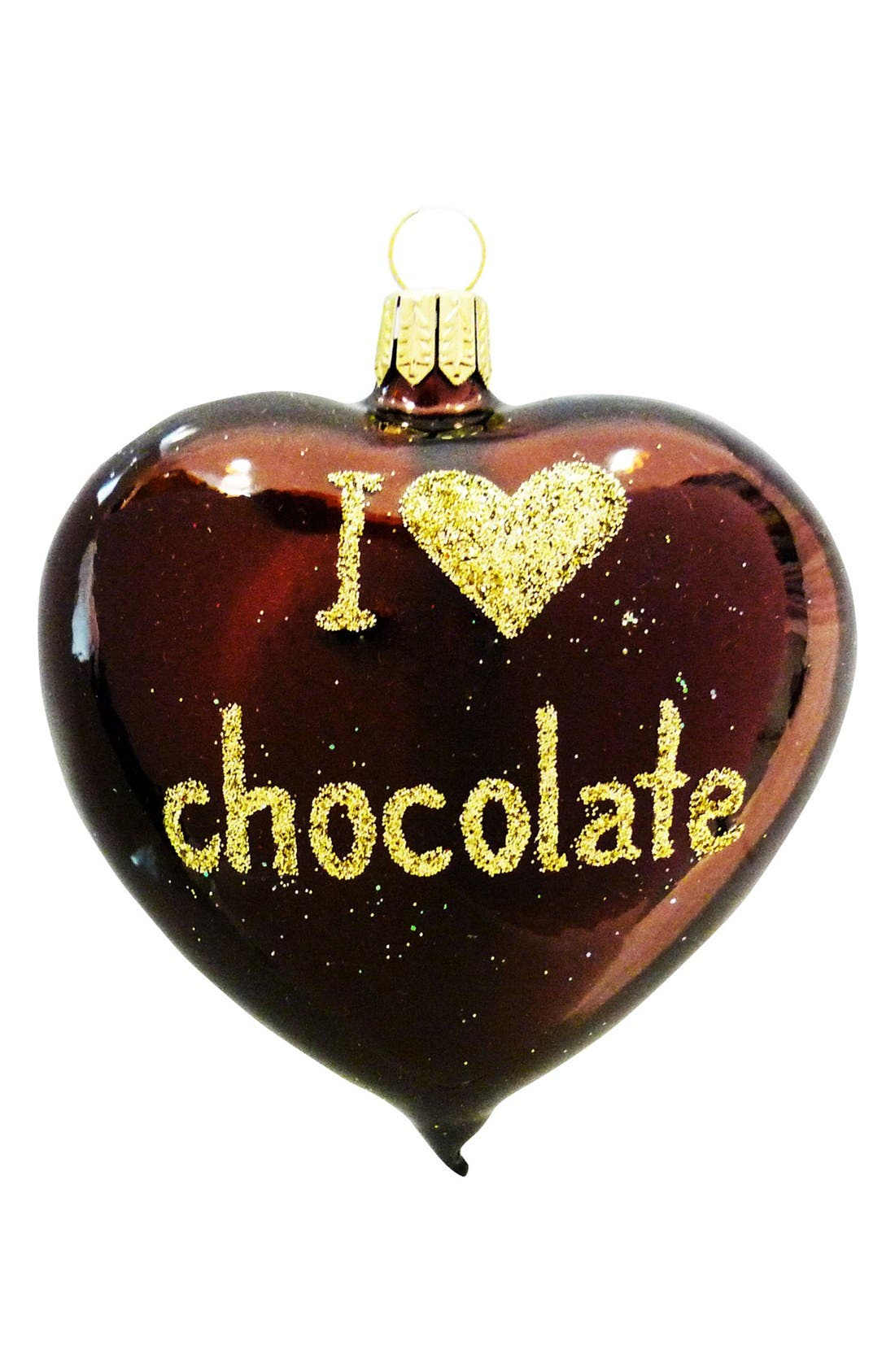 Main Image - Nordstrom at Home 'I Love Chocolate' Heart Ornament