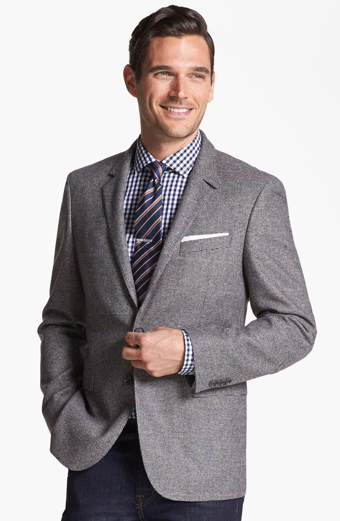 Alternate Image 1 Selected - BOSS HUGO BOSS 'Rhett' Extra Trim Fit Sportcoat