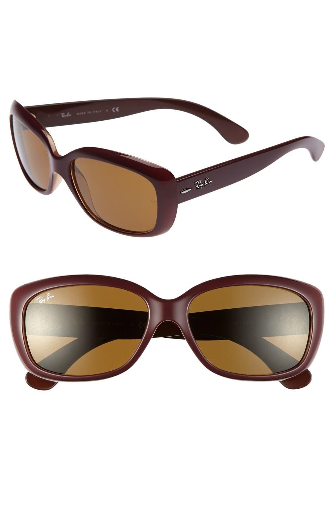 Alternate Image 1 Selected - Ray-Ban 'Pilot' 58mm Sunglasses