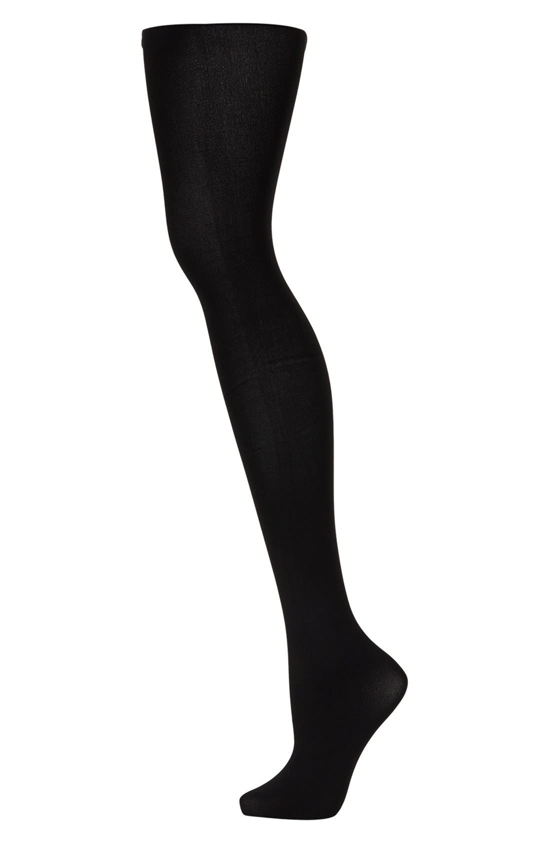 Alternate Image 1 Selected - Topshop 80 Denier Opaque Tights