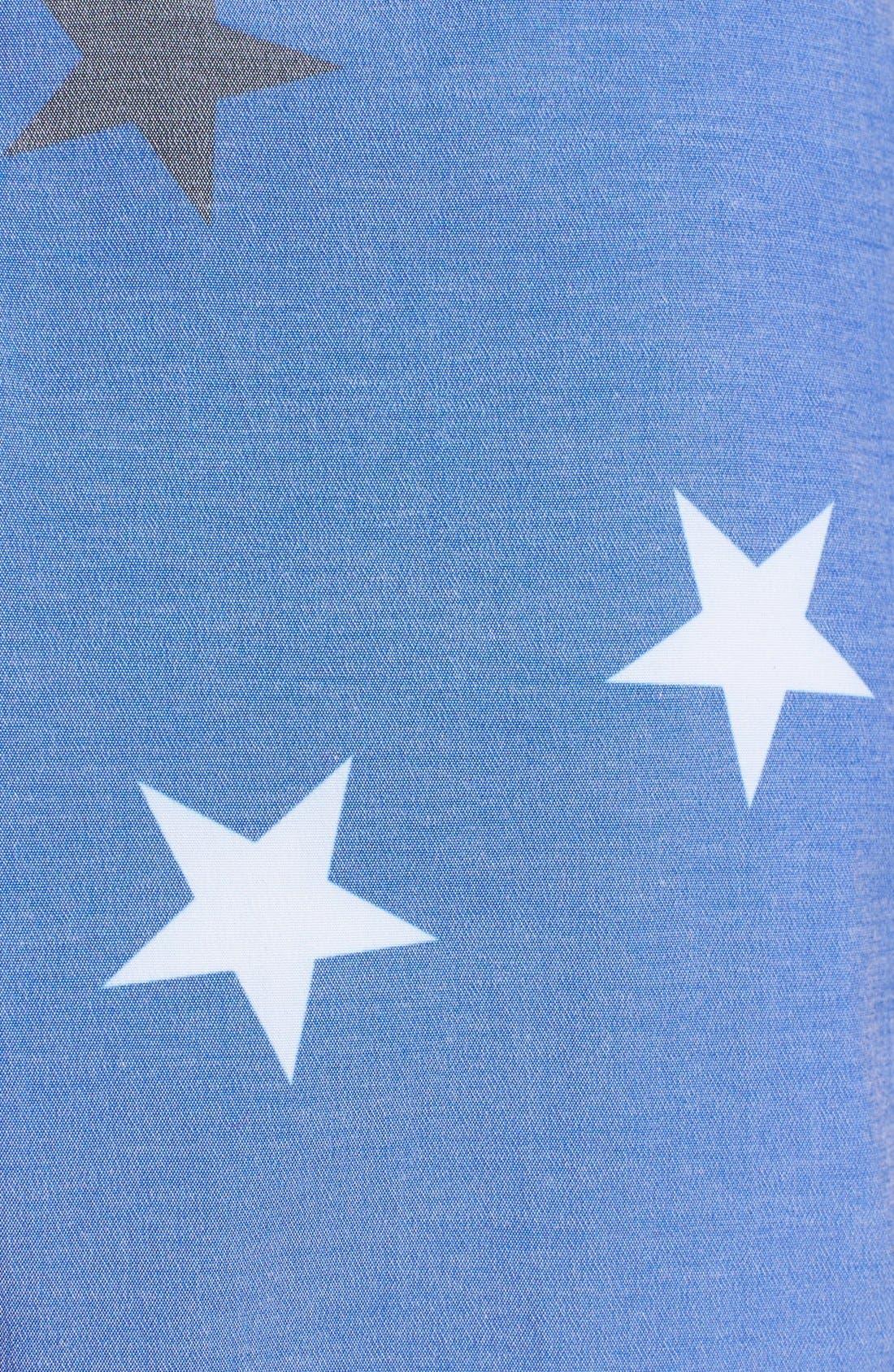 Alternate Image 3  - Quiksilver 'OG Scallop' Print Board Shorts