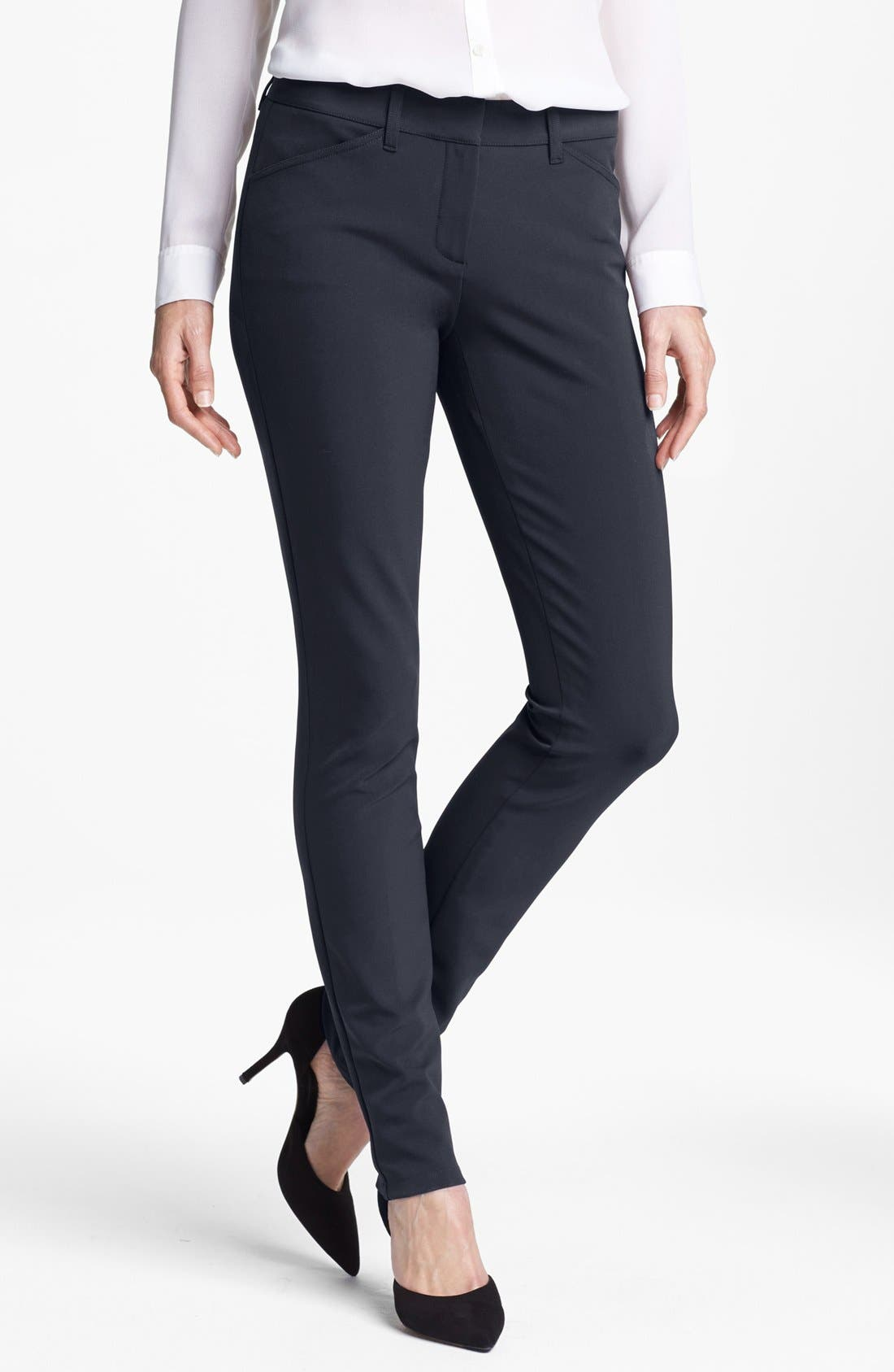 Alternate Image 1 Selected - Theory 'Dantey' Slim Leg Pants