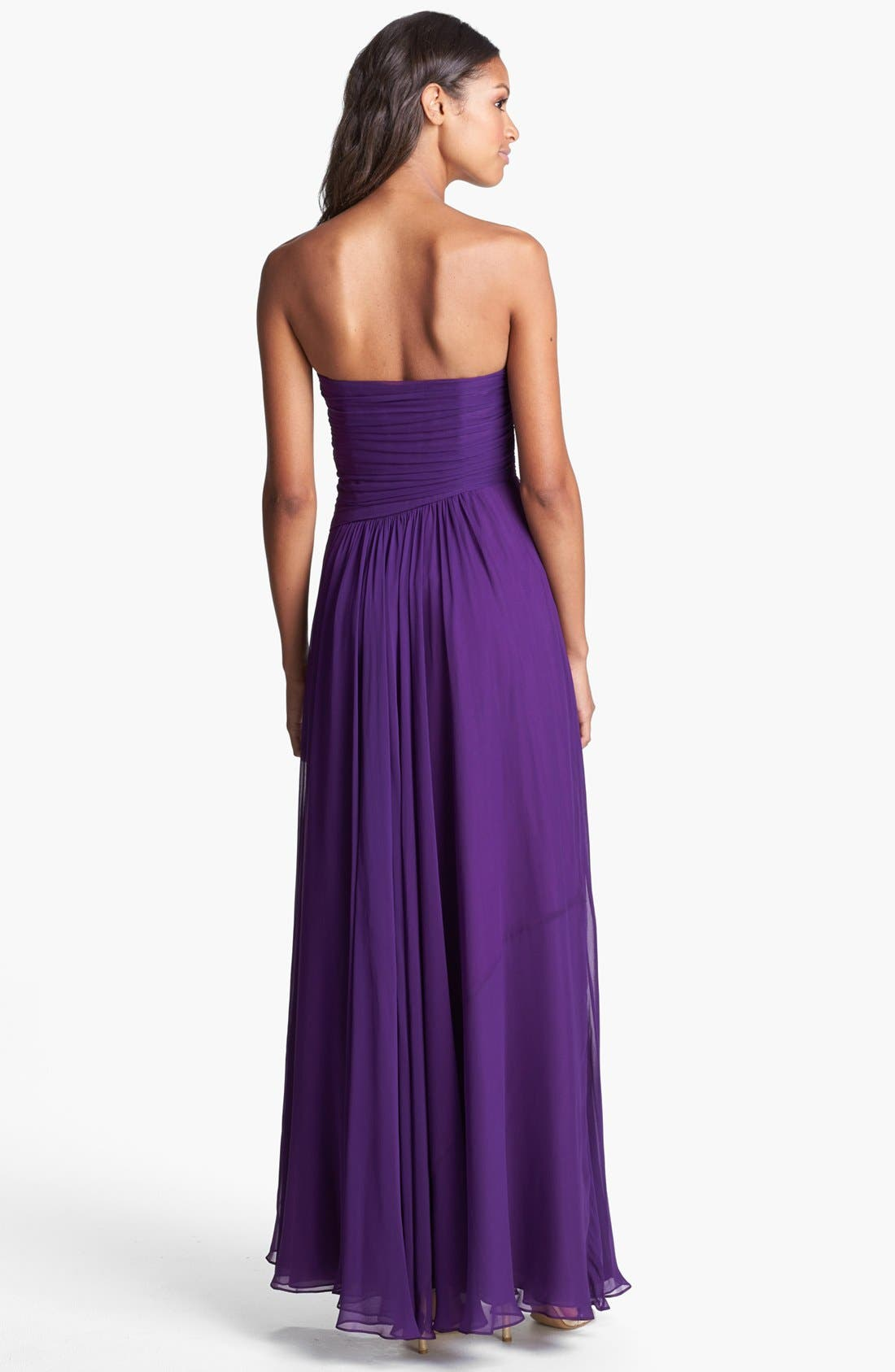Alternate Image 2  - Jill Jill Stuart Draped Chiffon Dress