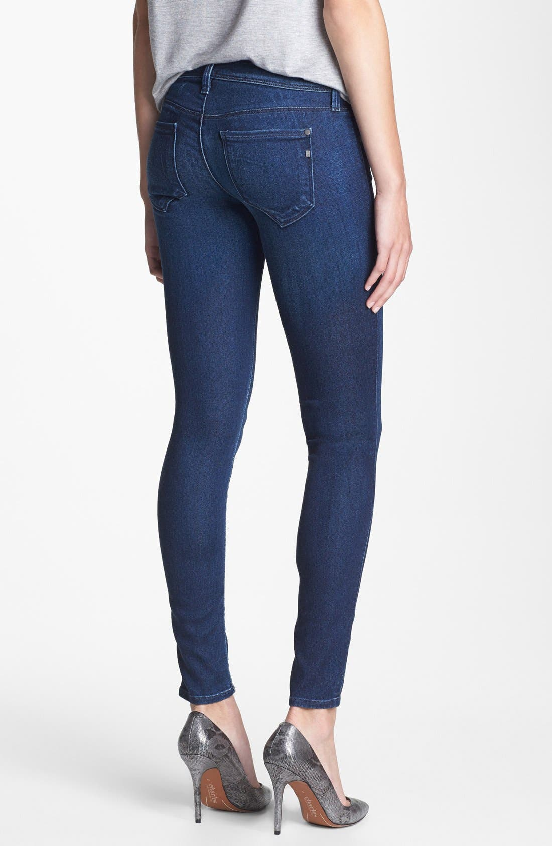 Alternate Image 2  - Genetic 'The Shya' Soft Cigarette Jeans (Vista)