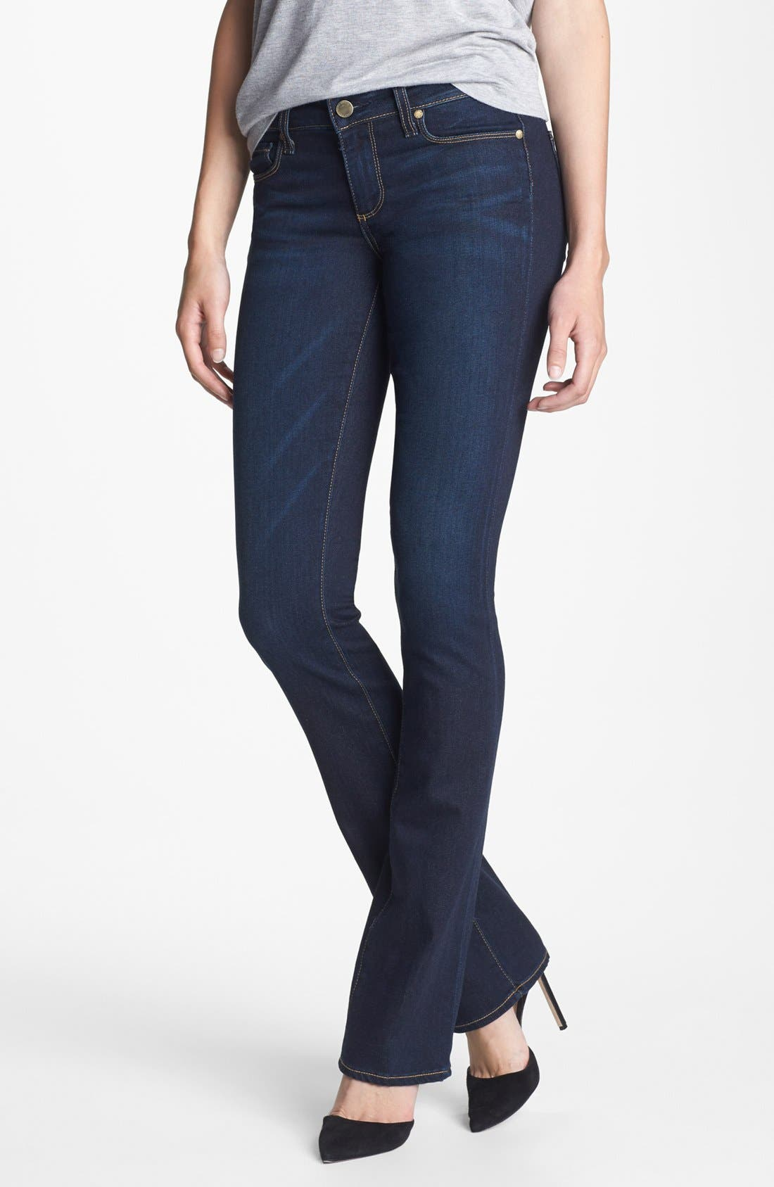 Alternate Image 1 Selected - Paige Denim 'Manhattan' Bootcut Jeans (Surface)