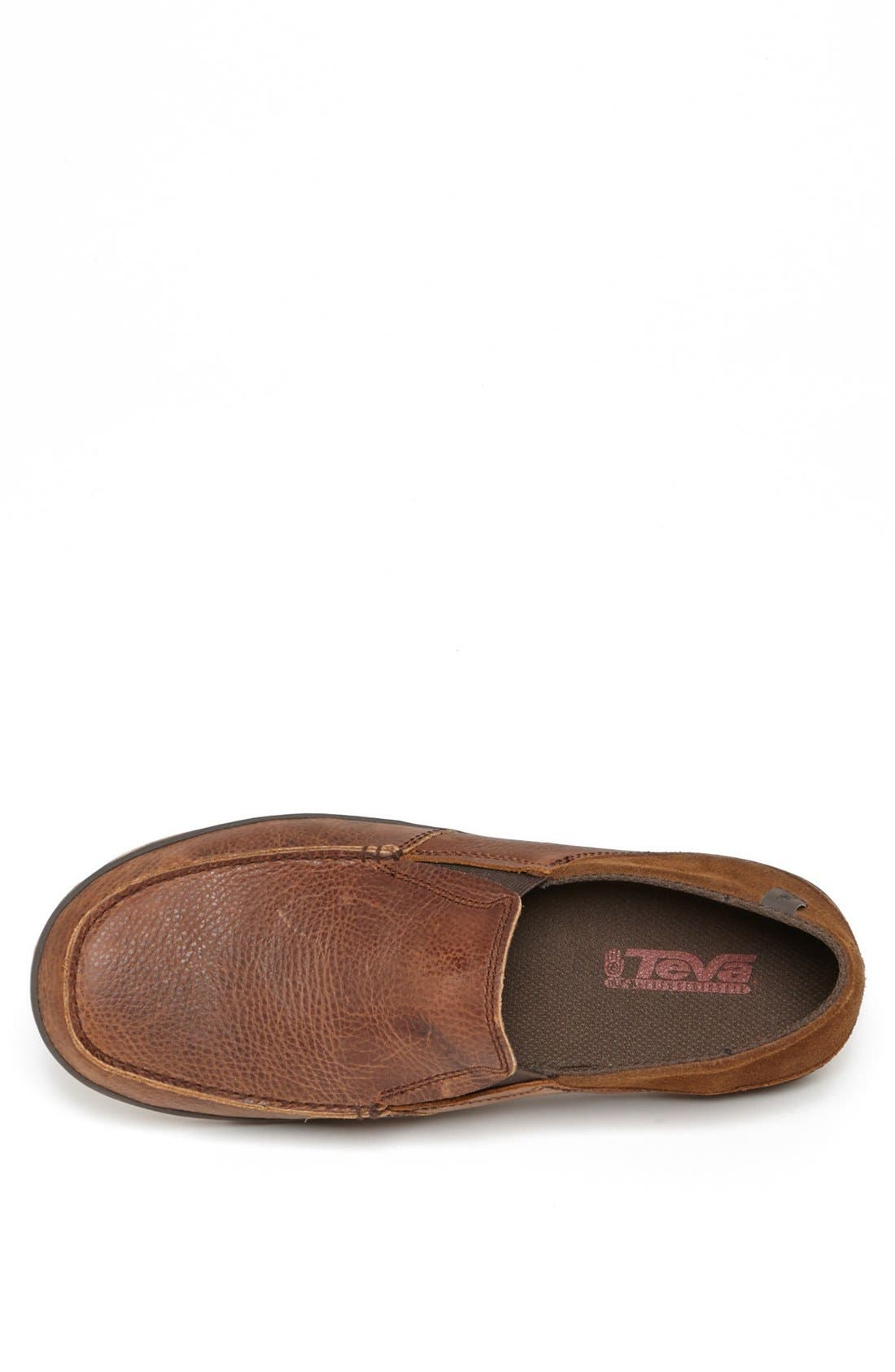 Alternate Image 3  - Teva 'Clifton Creek' Leather Driving Moccasin