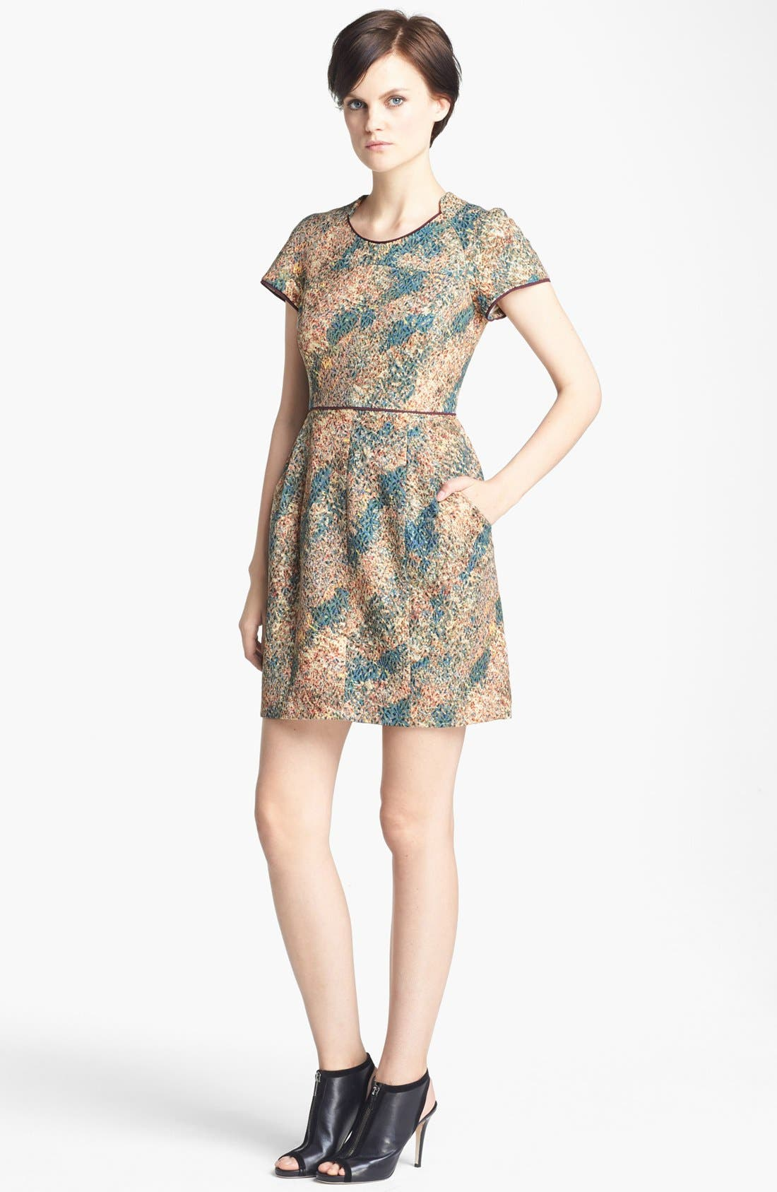Alternate Image 1 Selected - Mcginn 'Gabriella' Print Dress