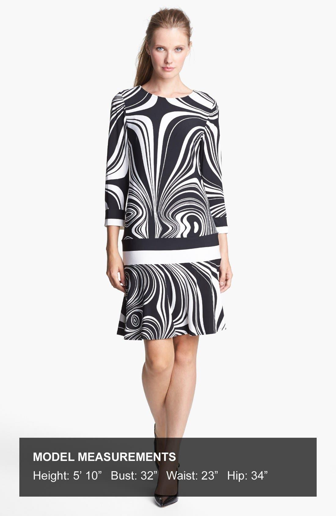 Alternate Image 4  - Donna Morgan Print Jersey Dress