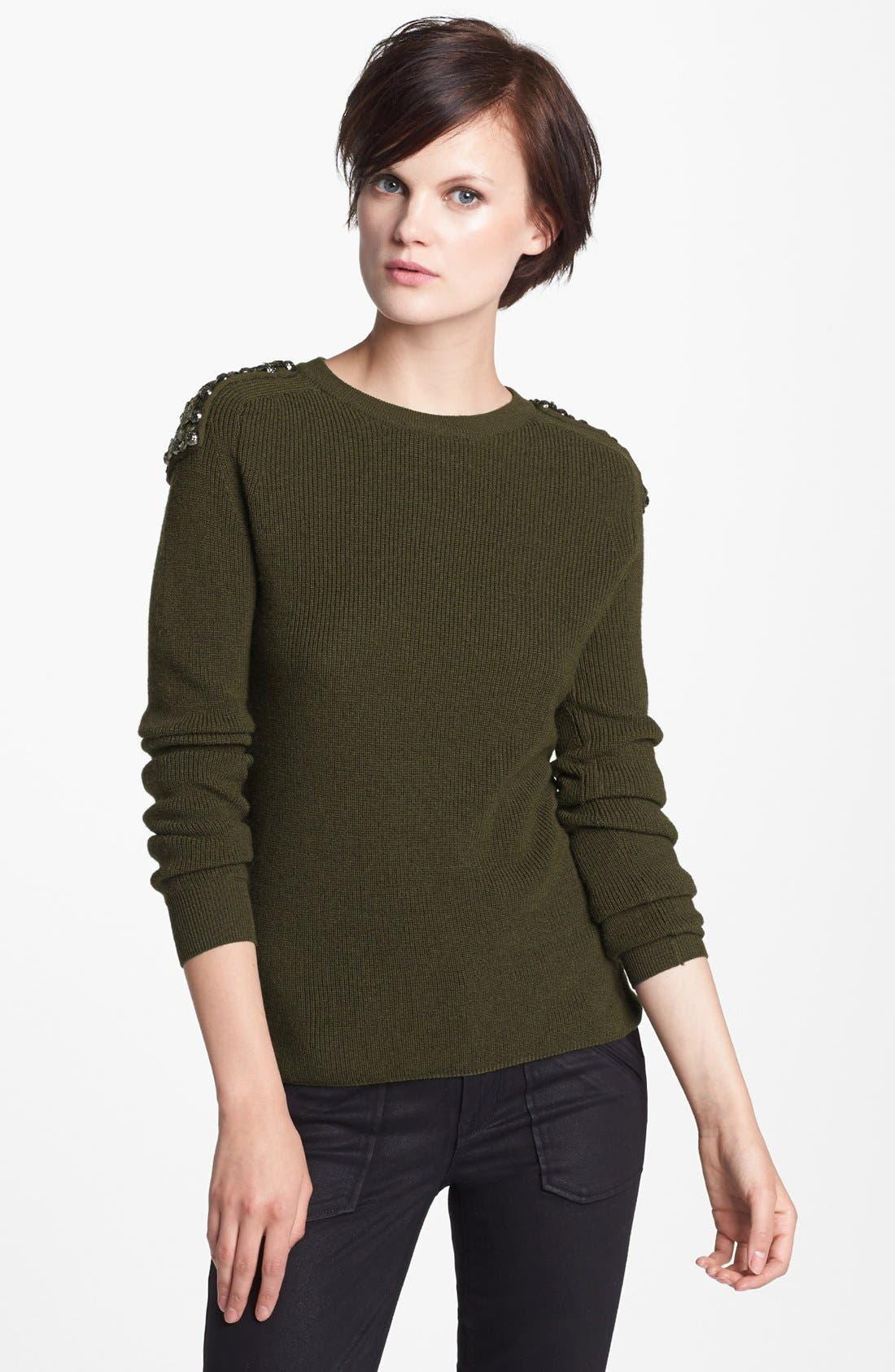 Alternate Image 1 Selected - MARC BY MARC JACOBS 'Cadette' Sequin Sweater