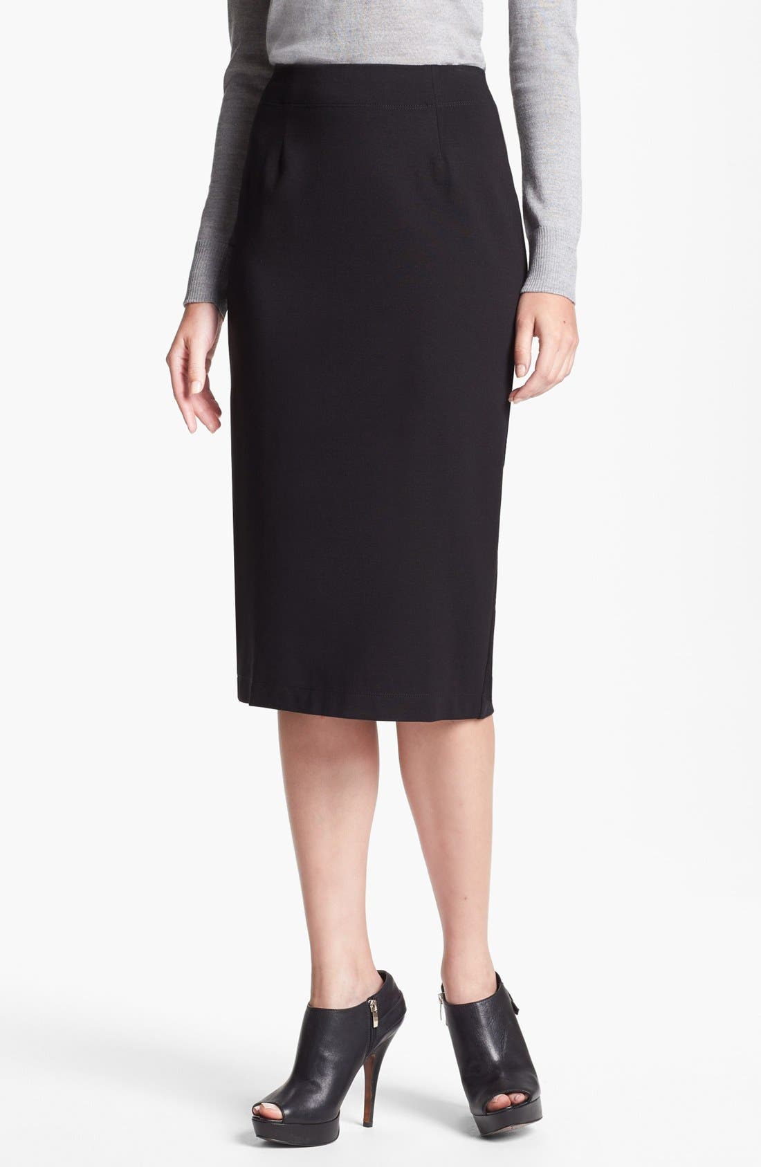 Alternate Image 1 Selected - Eileen Fisher Ponte Skirt