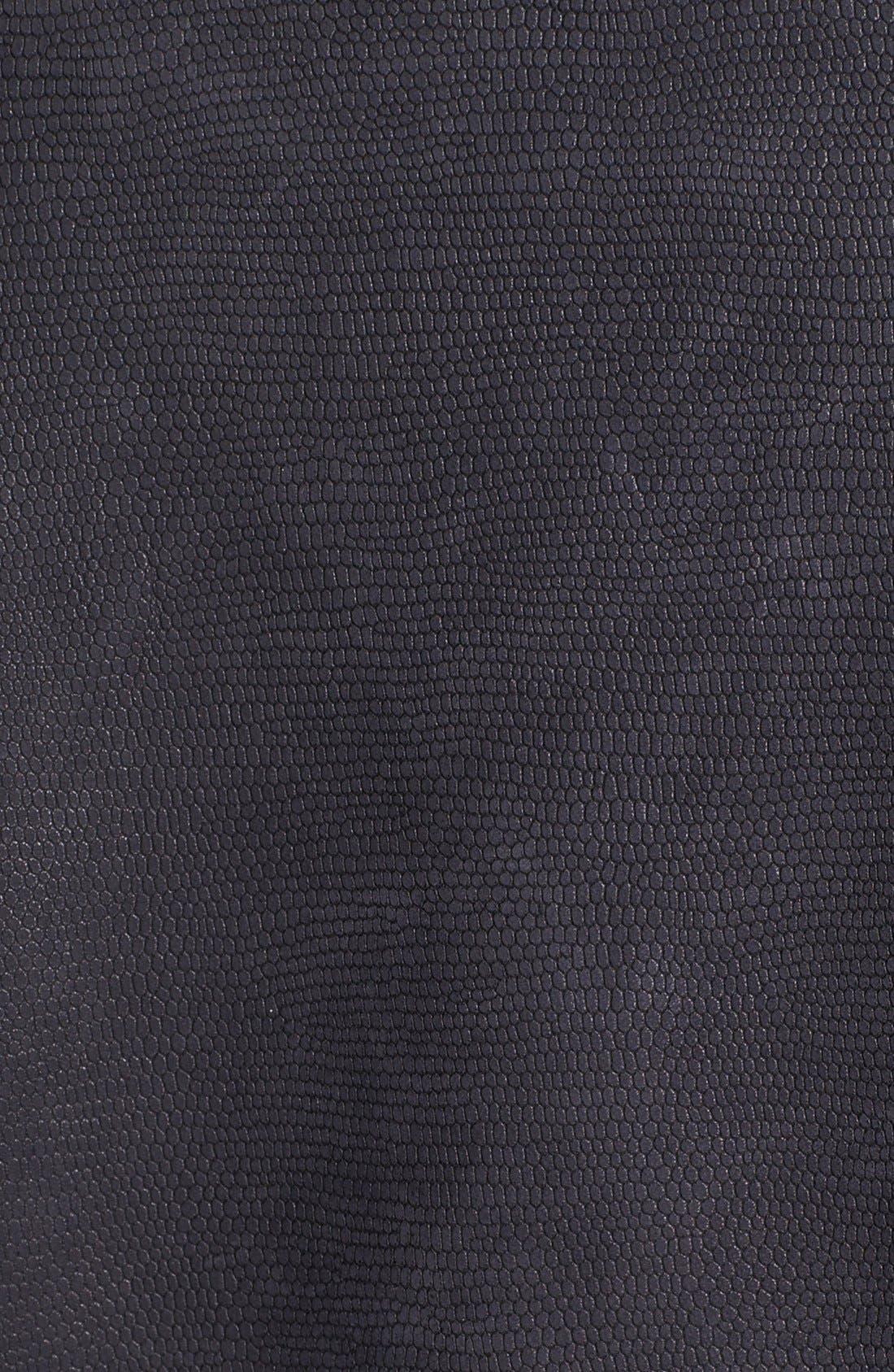 Alternate Image 3  - Andrew Marc Mixed Leather Moto Jacket