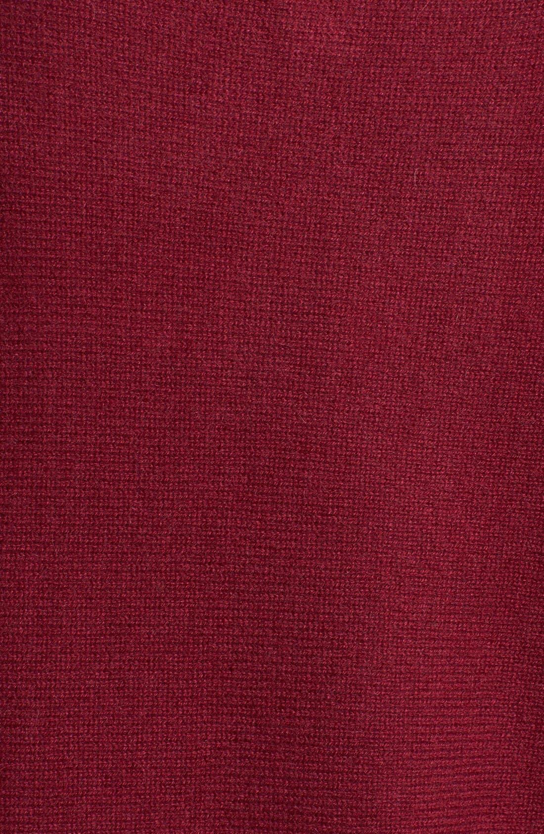 Alternate Image 3  - White + Warren V-Neck Cashmere Sweater
